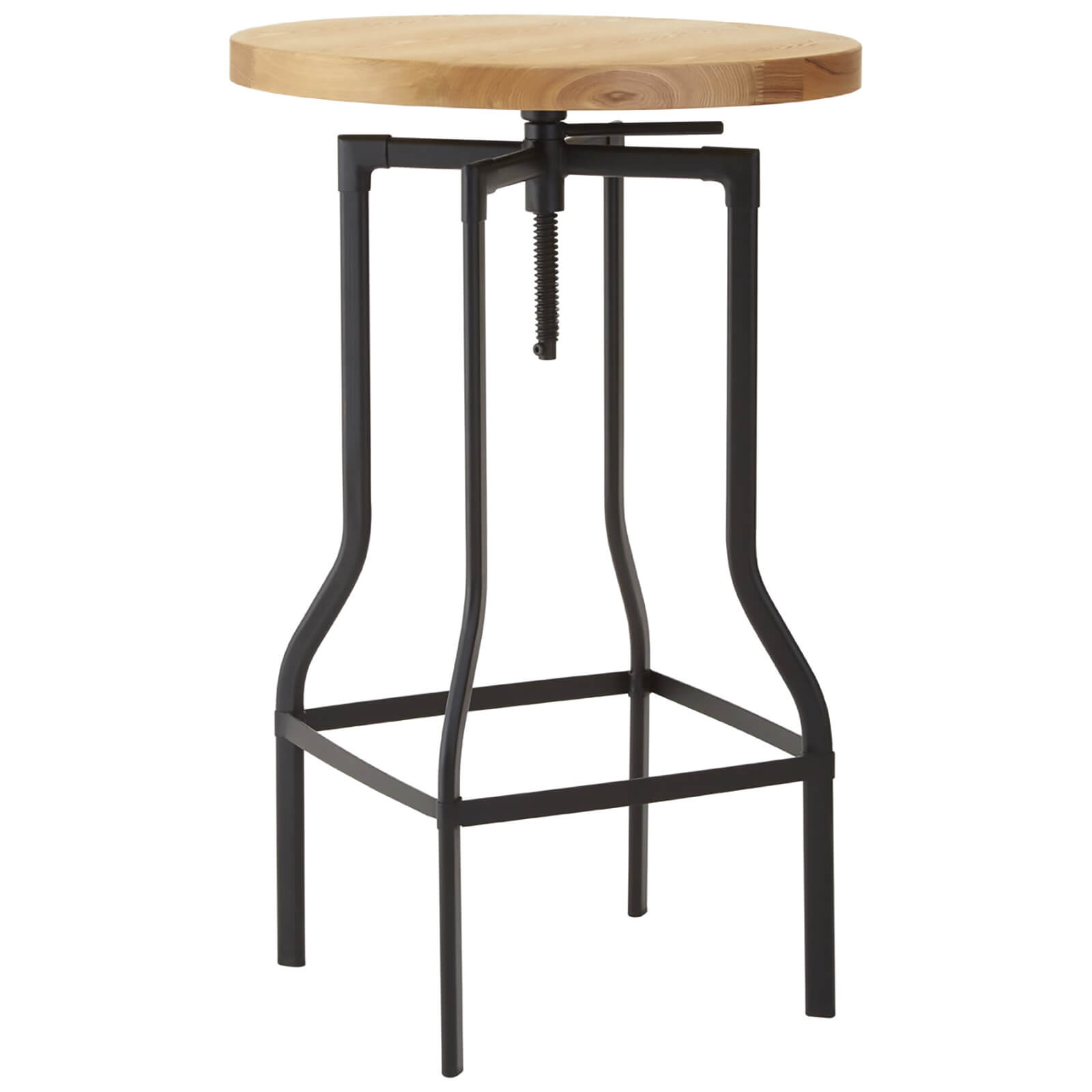 Fifty Five South New Foundry Bar Table - Black