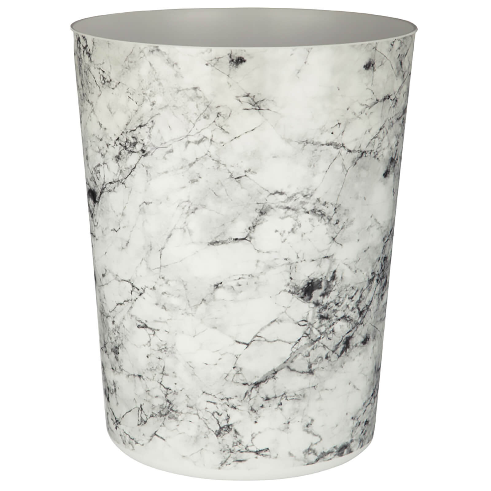 Fifty Five South Rome Waste Bin - Marble Effect