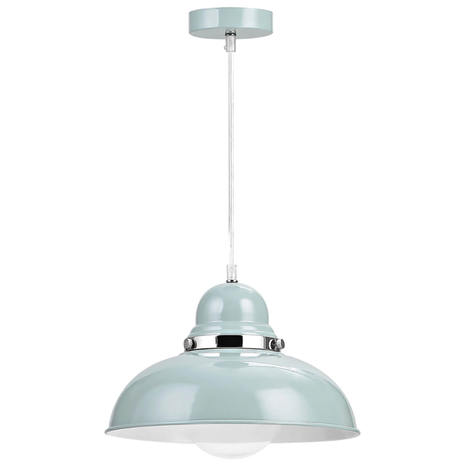 Fifty Five South Vermont Pendant Light - Shutter Blue