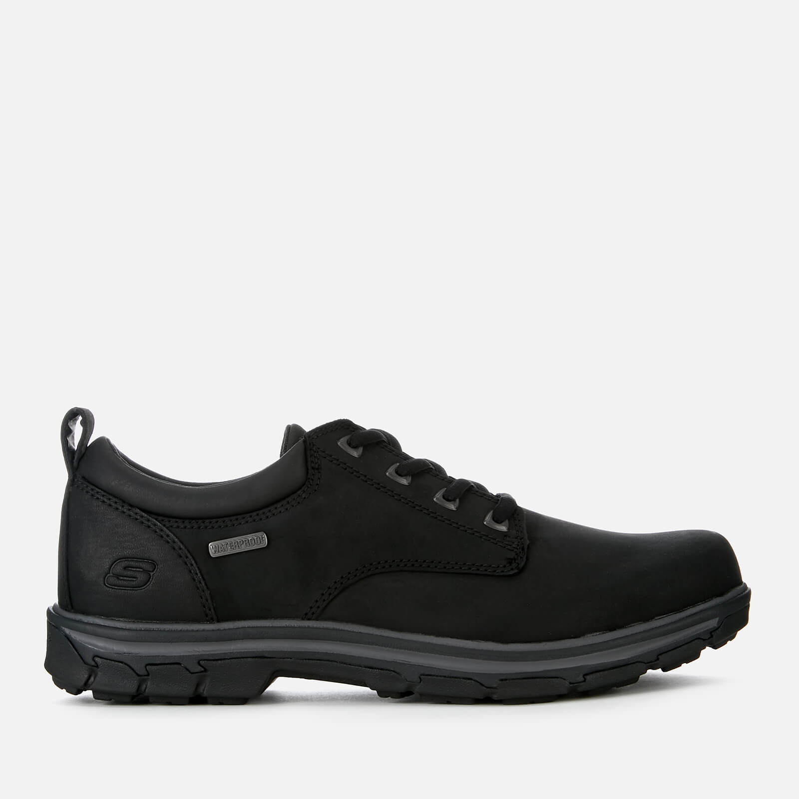 Negro Zapatos Skechers Segment Bertan Hombre 0OPN8wnkX