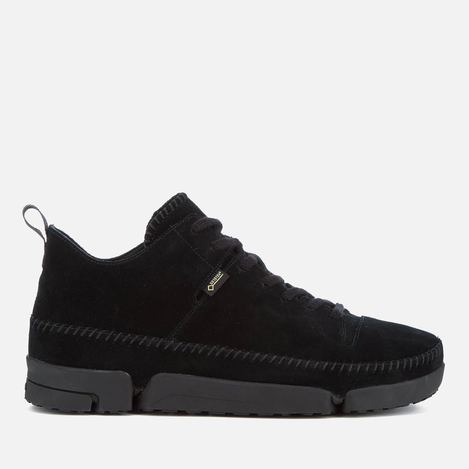 hot product classic shoes great deals on fashion Clarks Originals Men's Trigenic Dry Gore-Tex Shoes - Black Suede