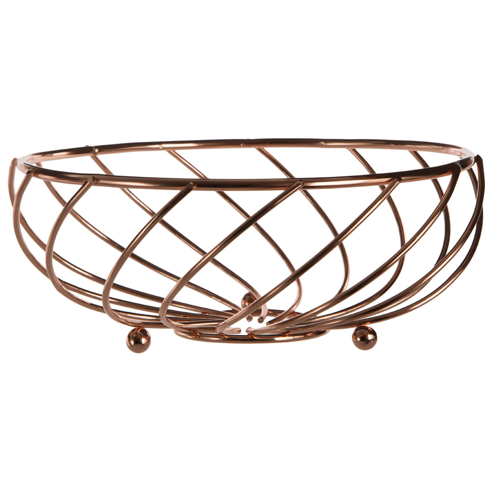Kuper Fruit Basket - Rose Gold