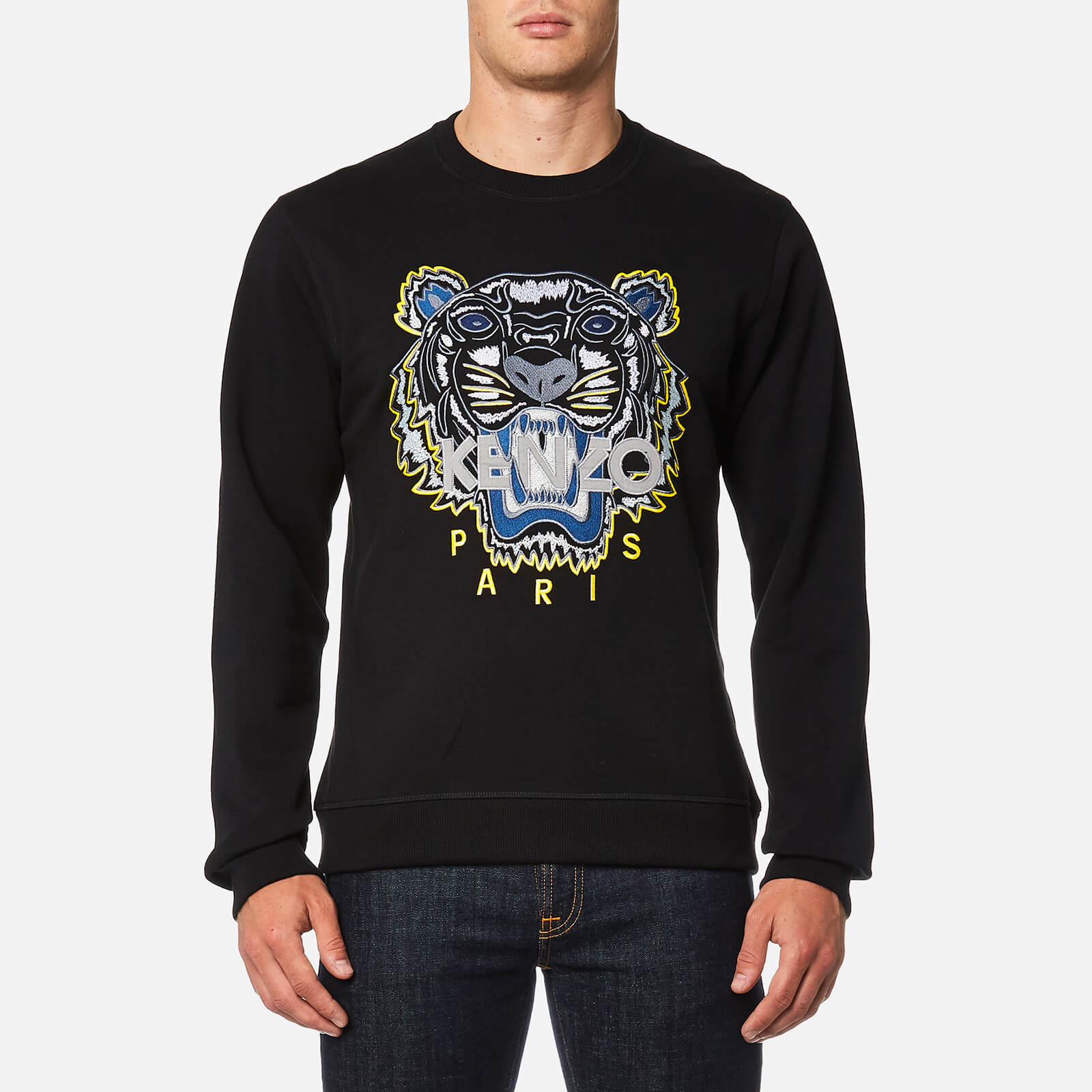 6eacc7a1 KENZO Men's Classic Icon Sweatshirt - Black - Free UK Delivery over £50