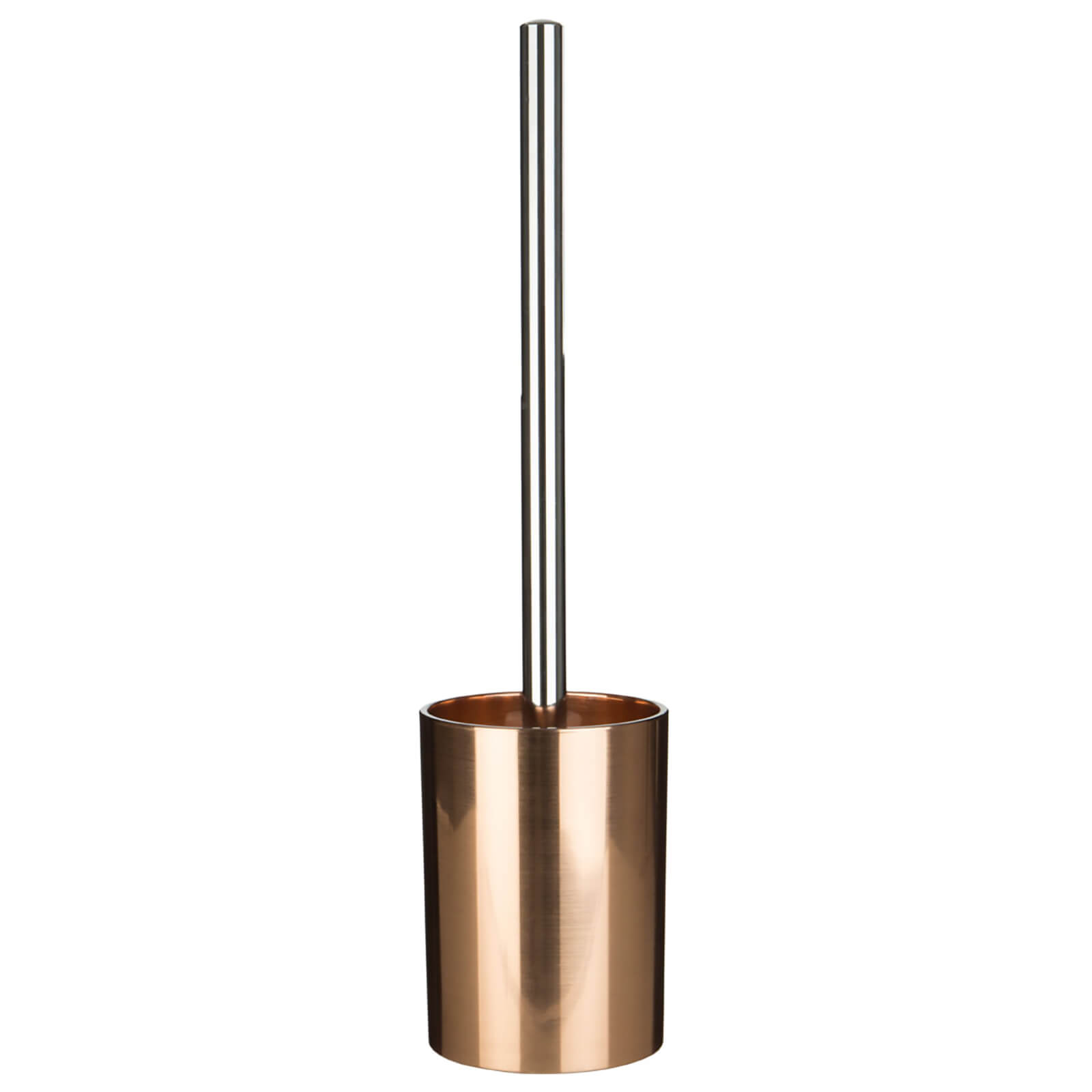 Fifty Five South Shine Toilet Brush and Holder - Rose Gold