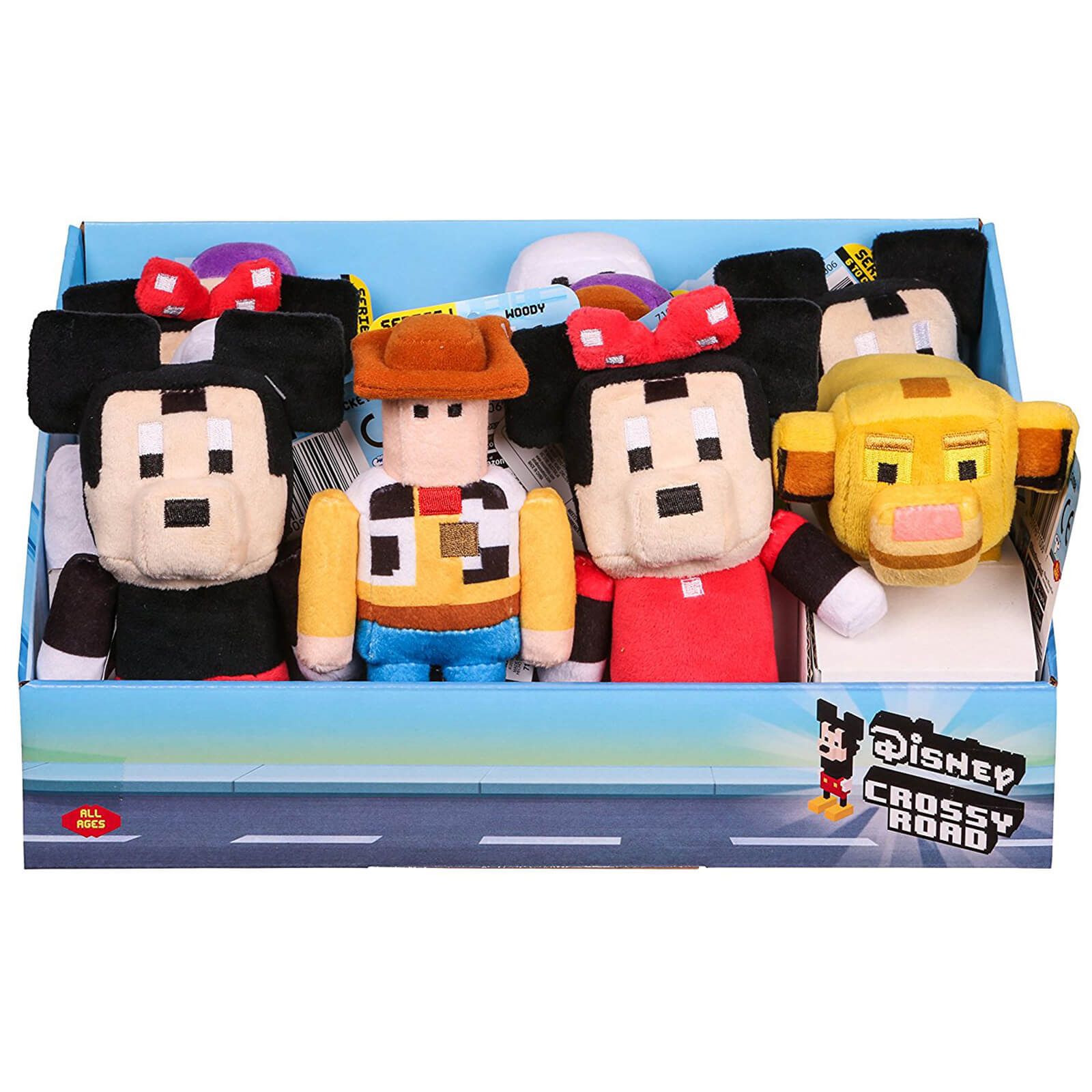 Disney Crossy Road Plush Collectables - 6 Inch
