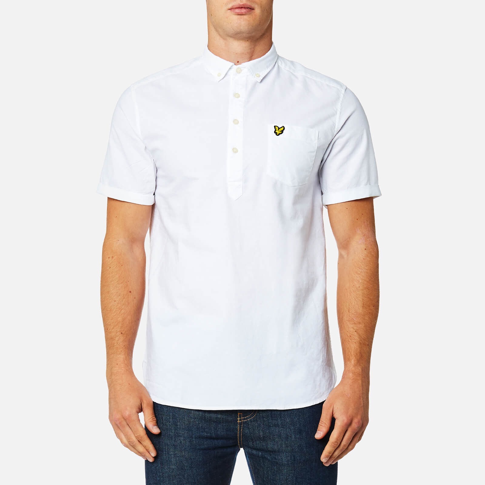 Casual Button-down Shirts Men's Clothing Ted Baker Mens Short Sleeved Shirt Size S High Quality And Low Overhead