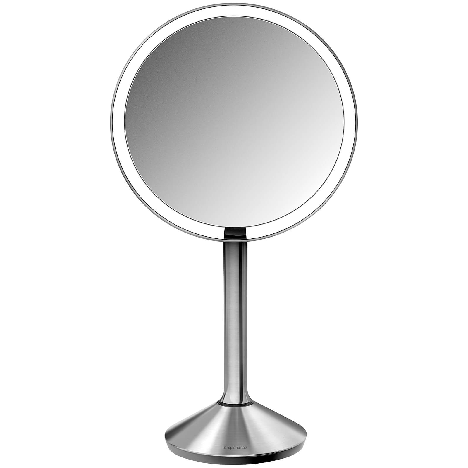 simplehuman Stainless Steel Rechargeable Sensor Mirror 16.5cm