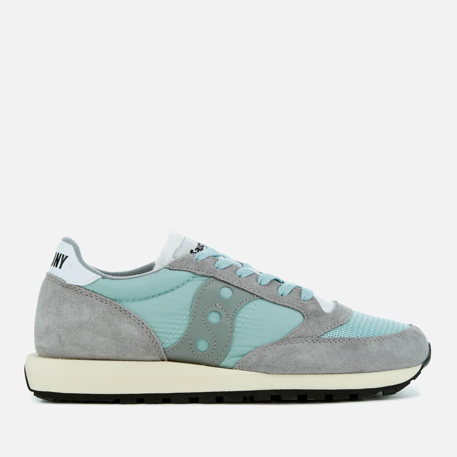 a5330583333e Saucony Jazz Original Vintage Trainers - Vintage Grey White Mens Footwear