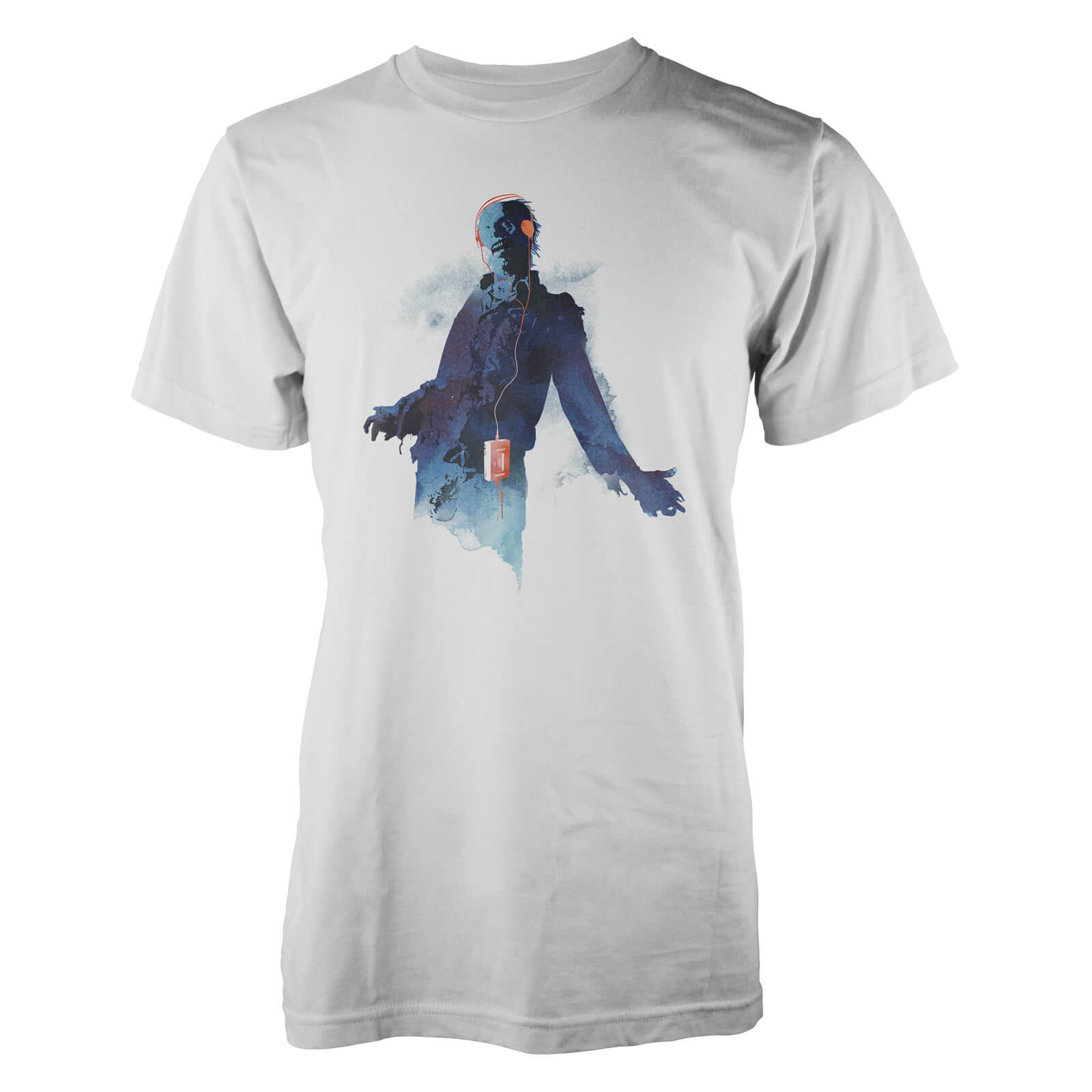Farkas Walkman Zombie Men's T-Shirt'