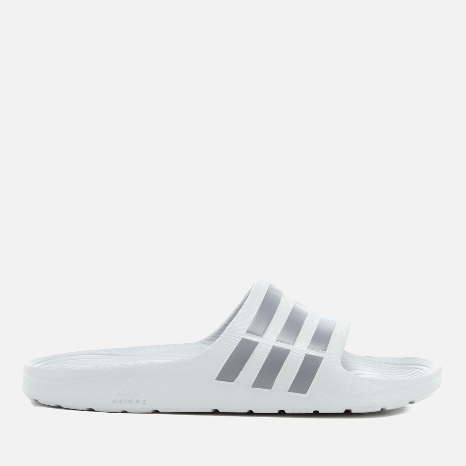 28fba1f8da83 adidas Men s Duramo Slide Sandals - Clear Onix Sports   Leisure ...