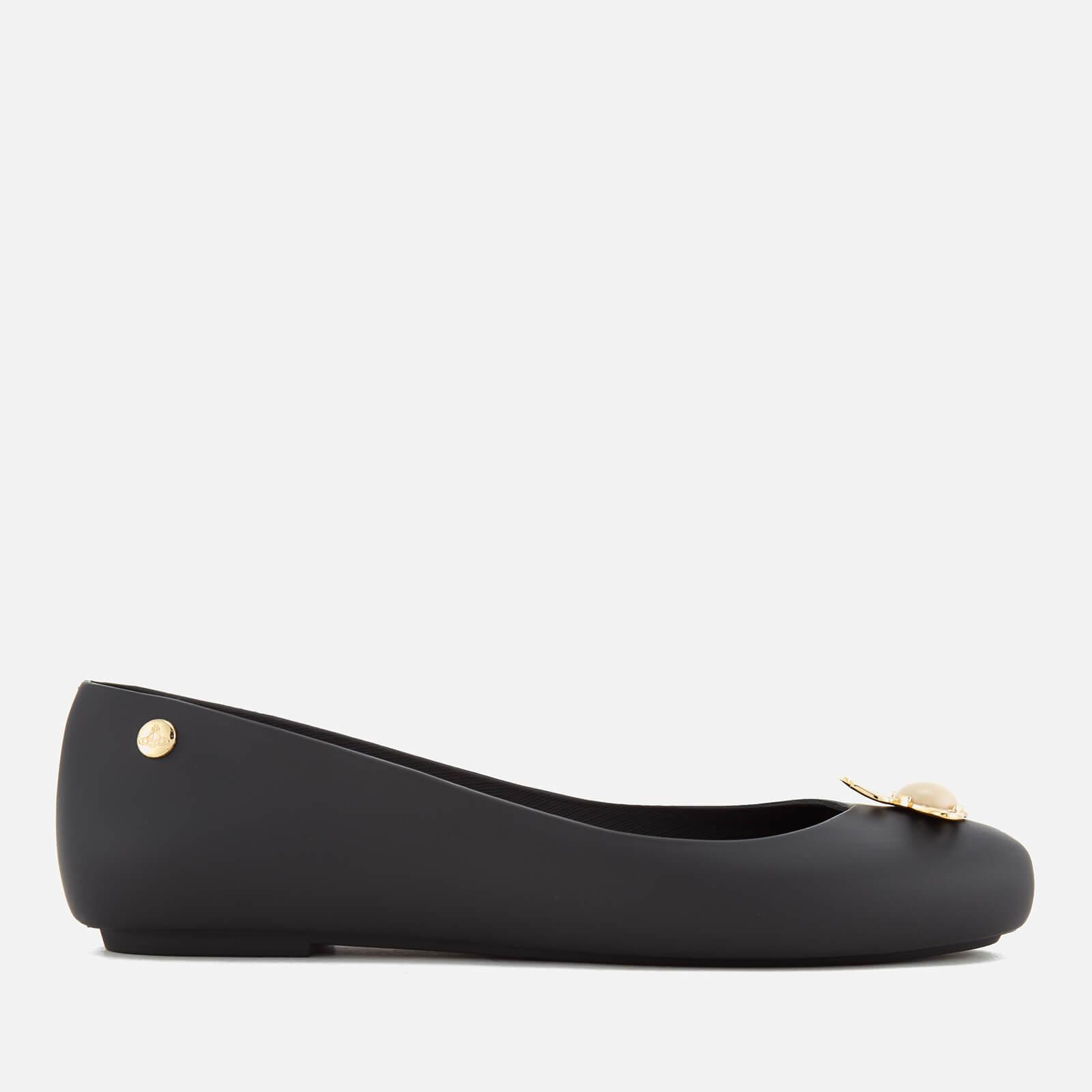 Ballet Flats - Black Pearl Orb