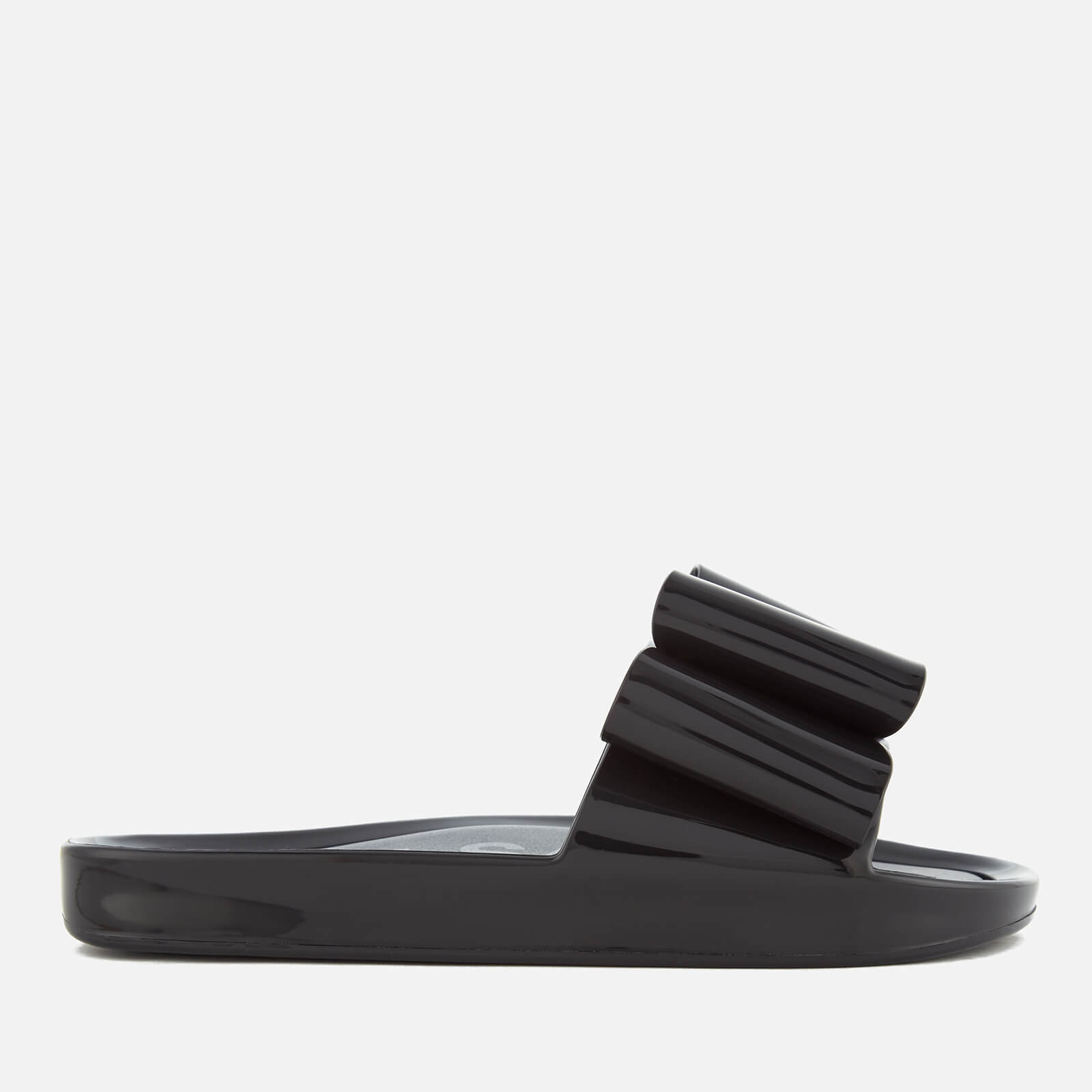 f31ad6885dd8 Melissa Women s Beach Slide Bow 18 Sandals - Black - Free UK Delivery over  £50