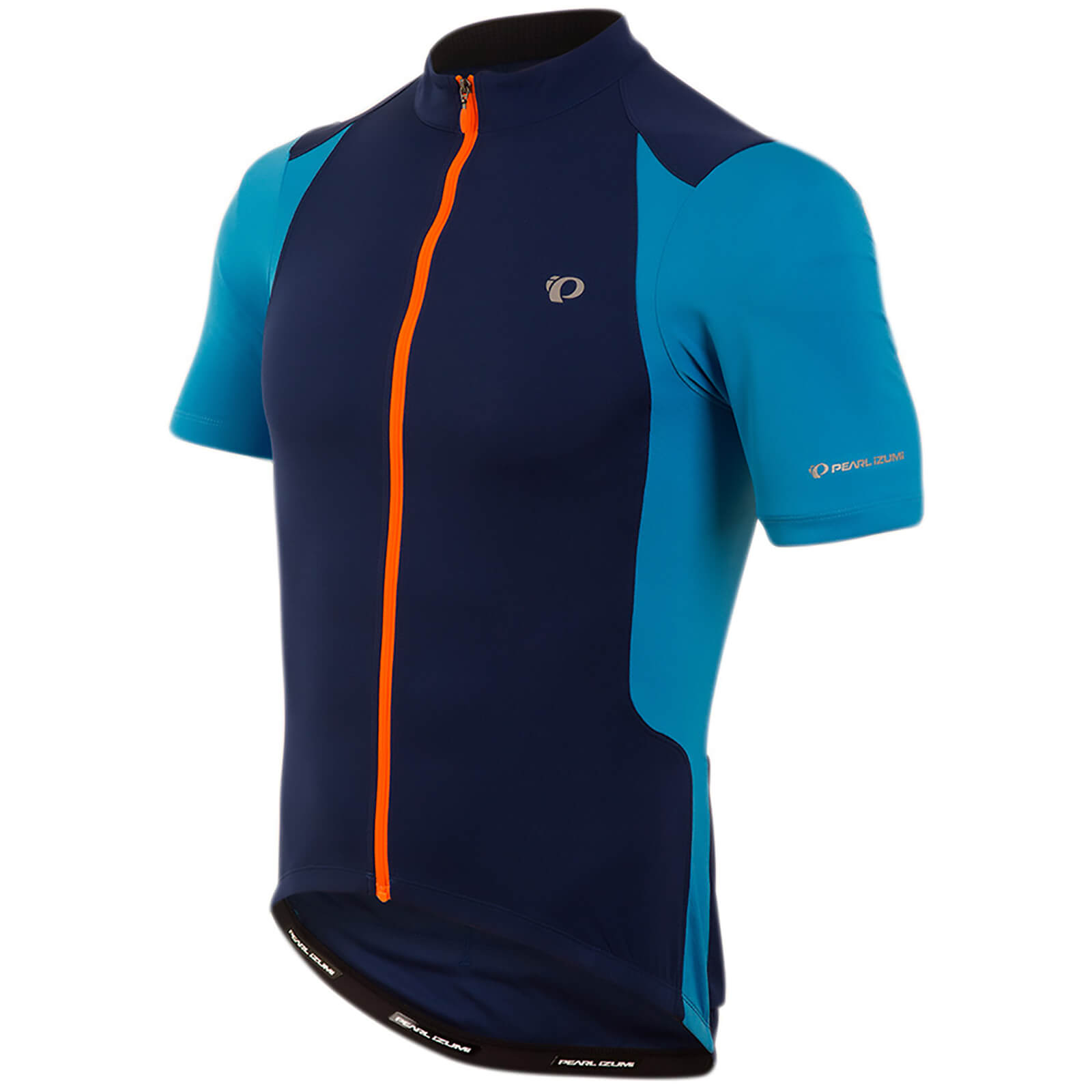Pearl Izumi Select Pursuit Short Sleeve Jersey - Blue Depths/Bel Air Blue