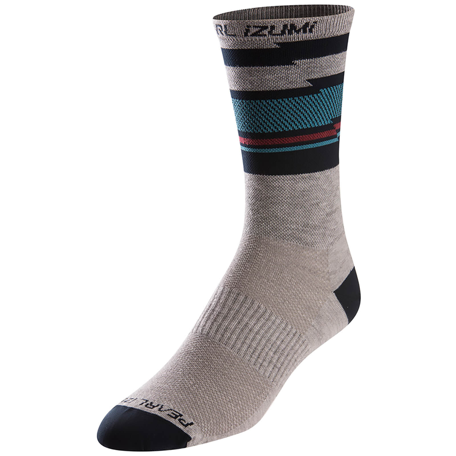 Pearl Izumi Elite Tall Socks - Drift Eclipse Blue