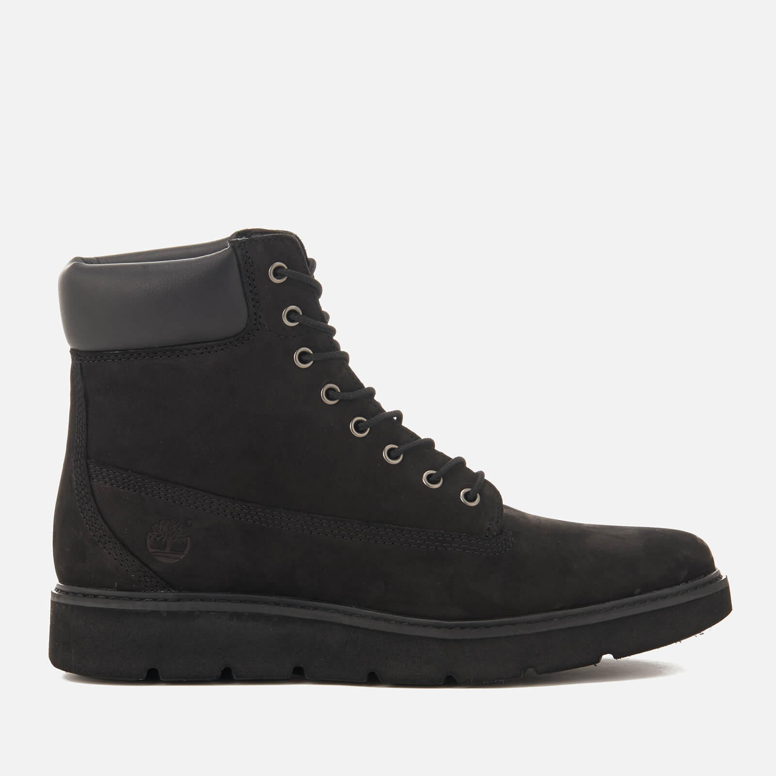 Timberland Women's Kenniston 6 Inch Leather Lace Up Boots Black