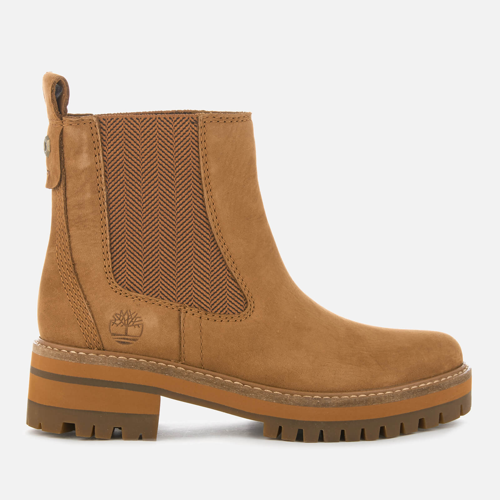 1ea39b4103e56 Timberland Women's Courmayeur Valley Chelsea Boots - Sundance | FREE UK  Delivery | Allsole