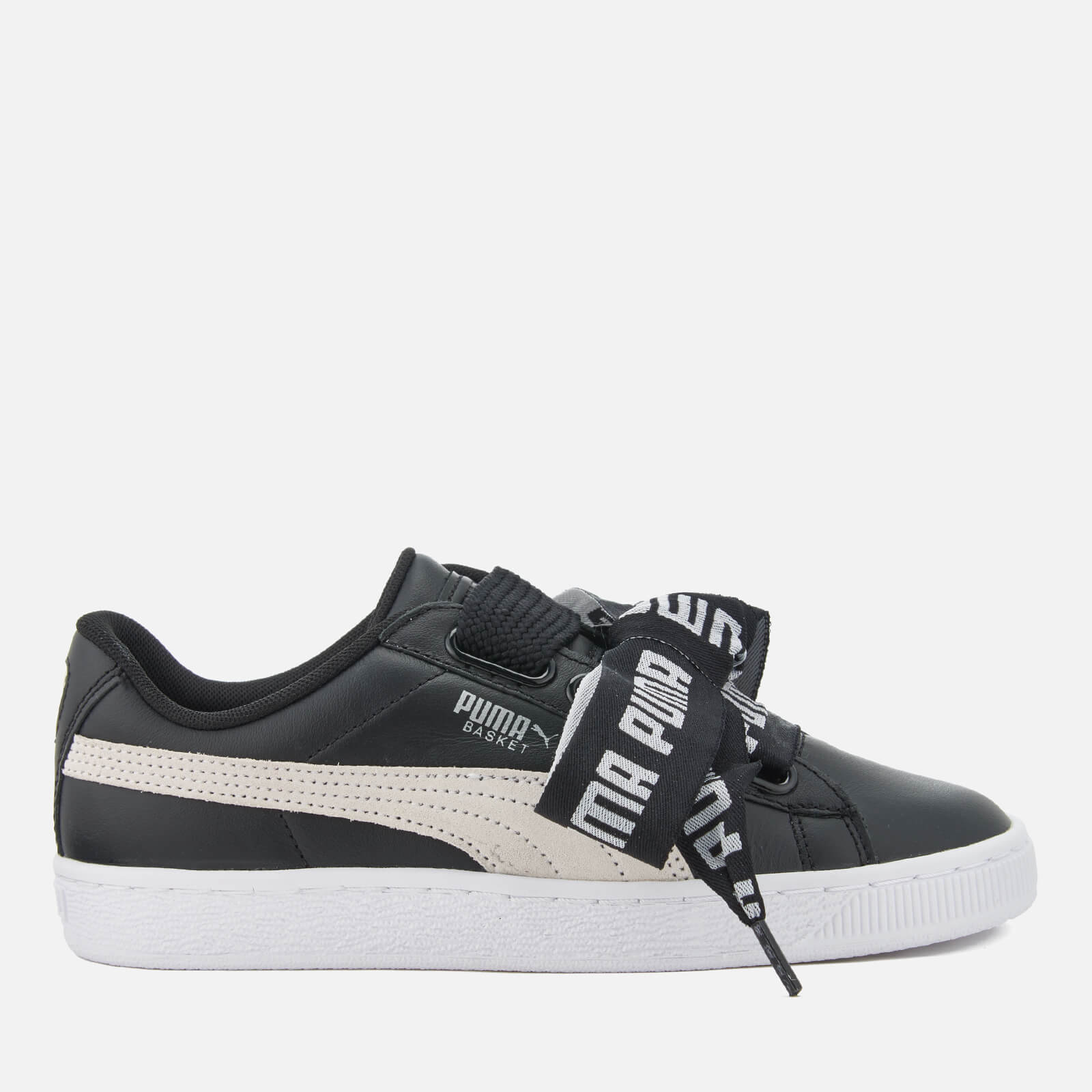 Basket Trainers Women's White Heart Puma Blackpuma OZuwkPiTX