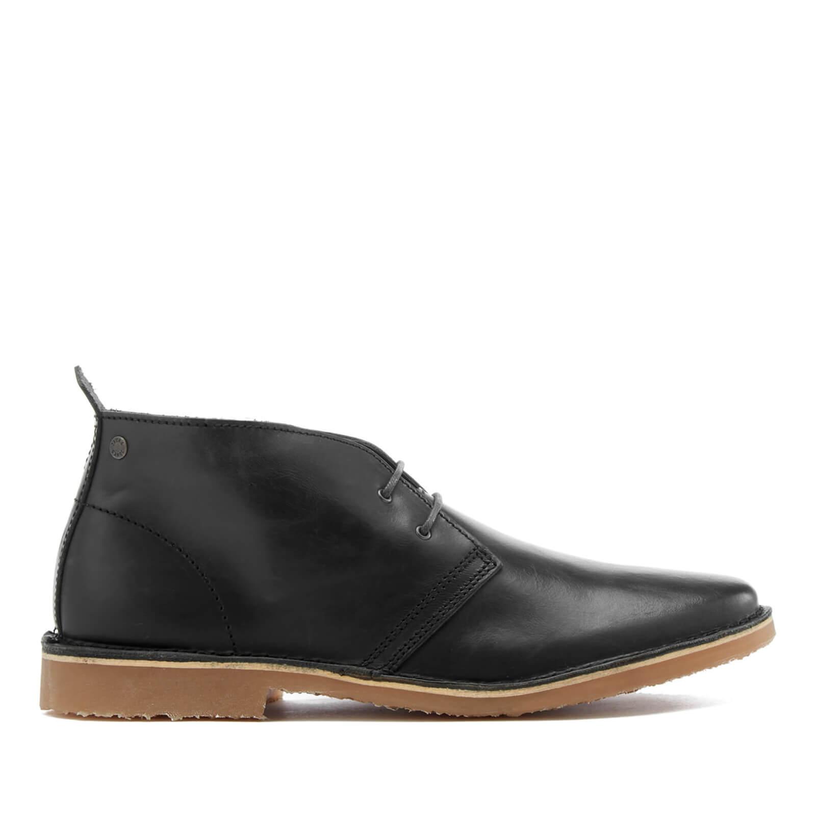 fdfab0604041 Jack   Jones Men s Gobi Leather Desert Boots - Dark Slate. Description