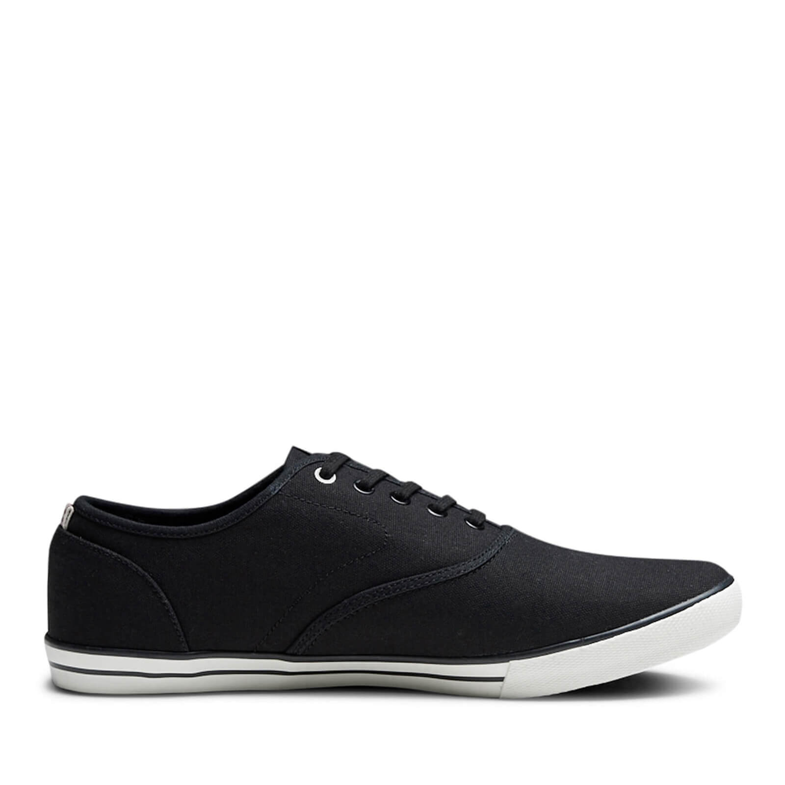 Chaussures Tennis en Toile Homme Scorpion Jack & Jones - Gris Anthracite