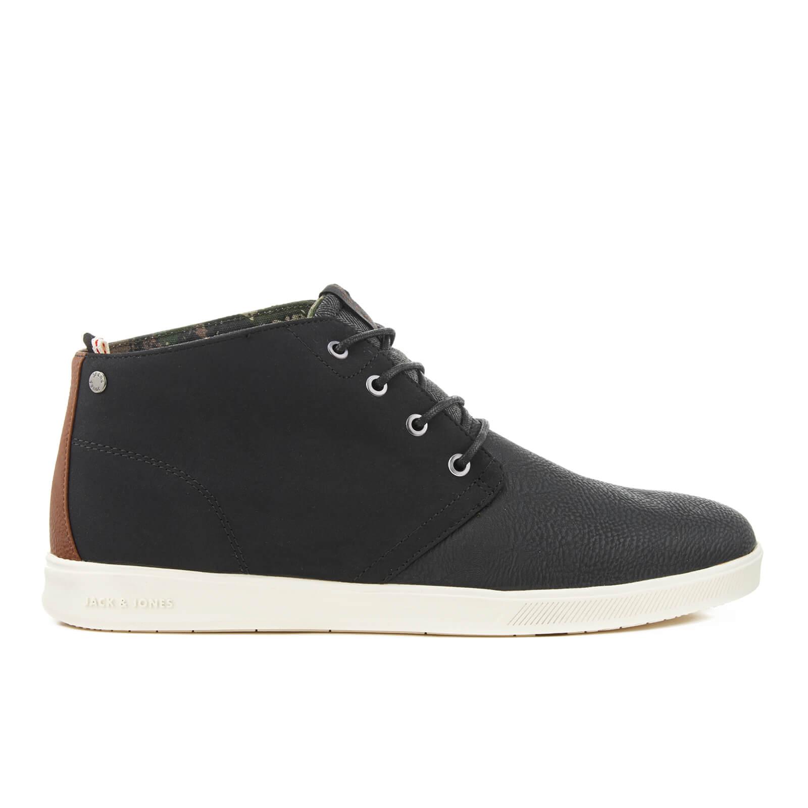 8f8158be5ac2 Jack   Jones Men s Denton PU Mix Shoes - Anthracite Clothing