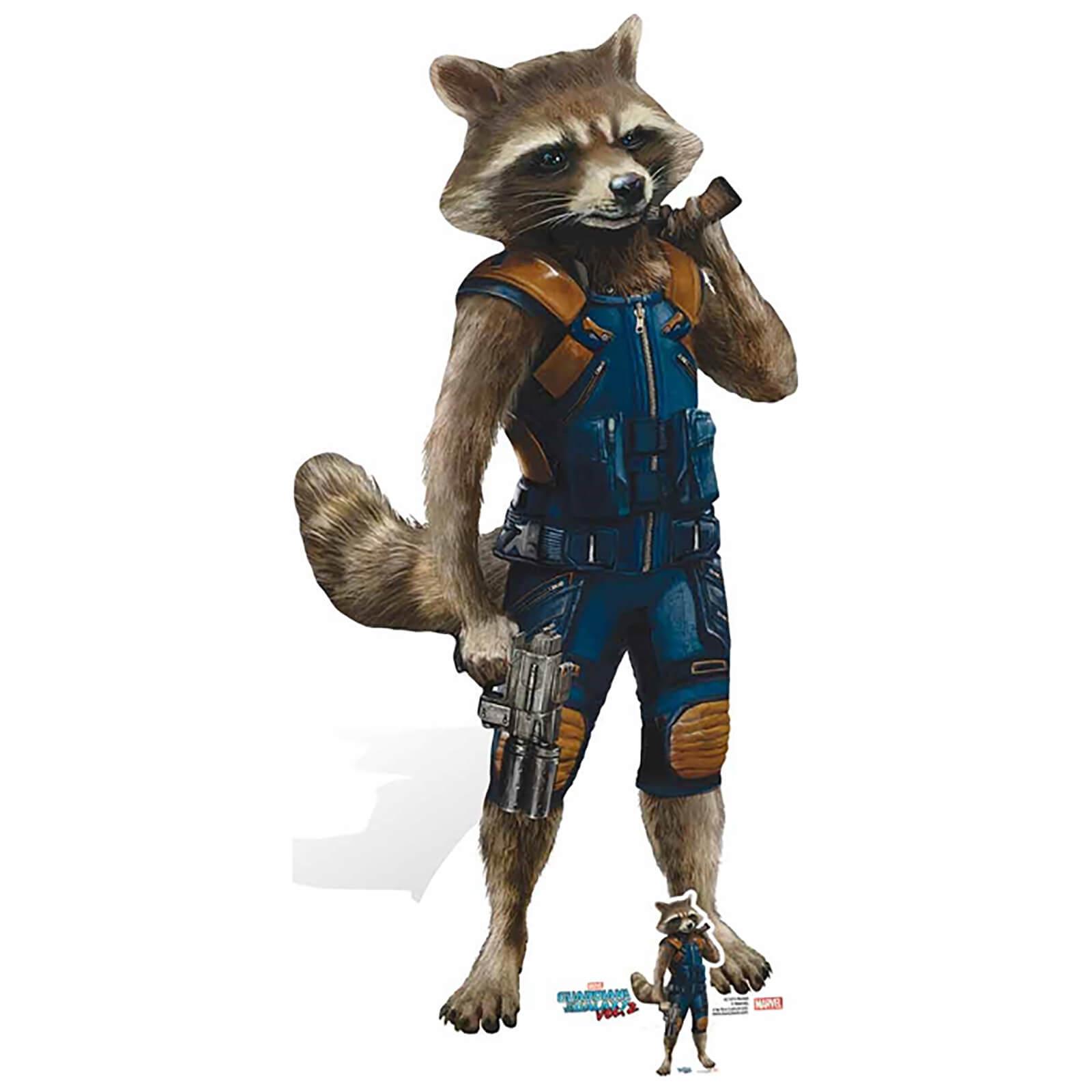 Guardians Of The Galaxy Volume 2 Rocket Racoon Cardboard