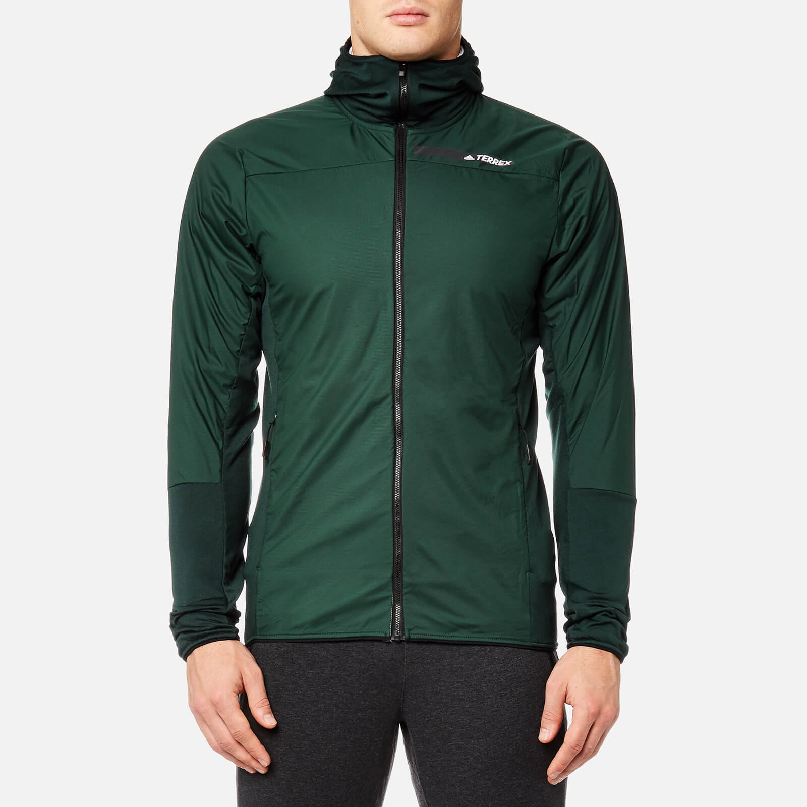 adidas Terrex Men's Skyclimb Fleece Jacket Green Night
