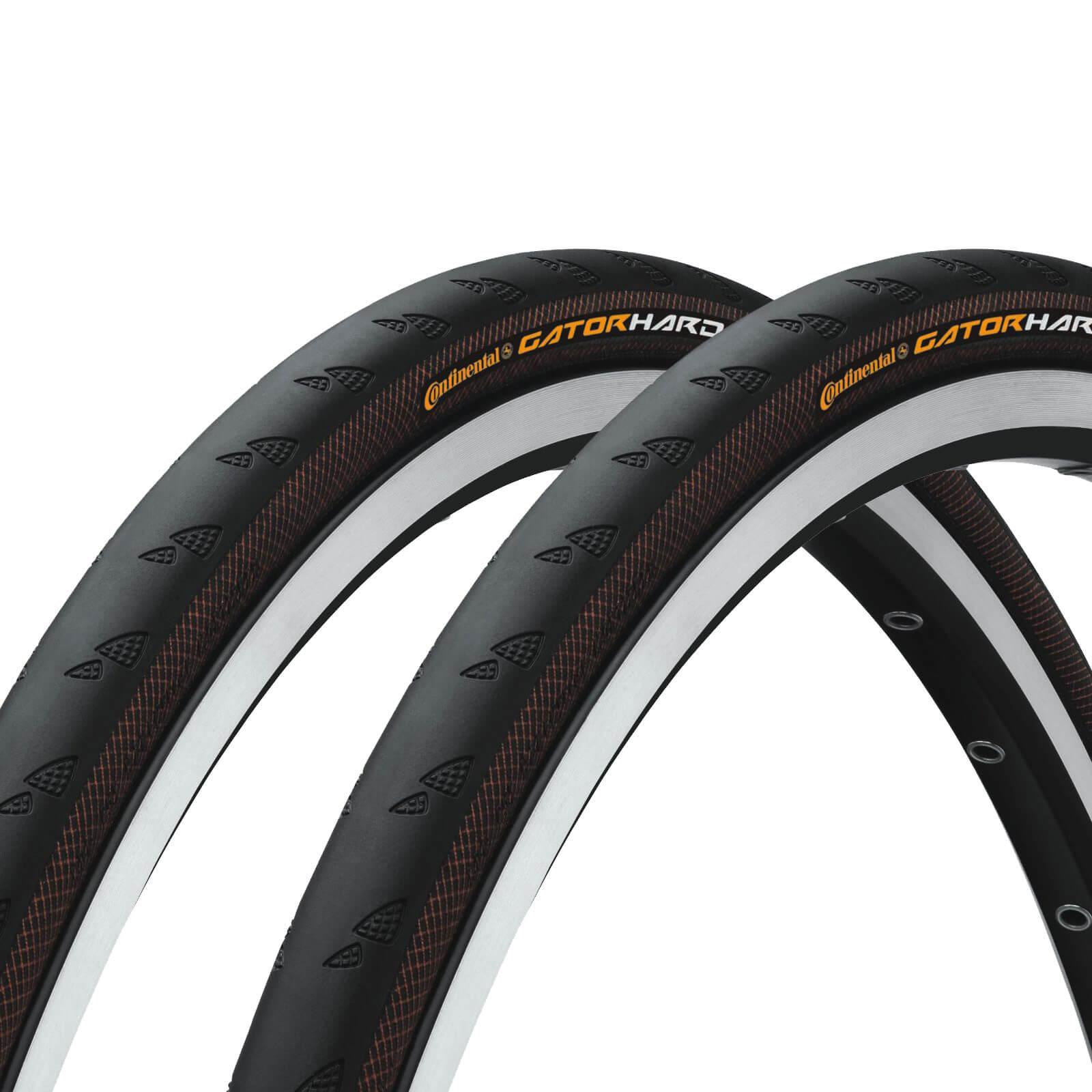 9165223cb6f Continental Gatorskin Hardshell Clincher Tyre Twin Pack | ProBikeKit.com