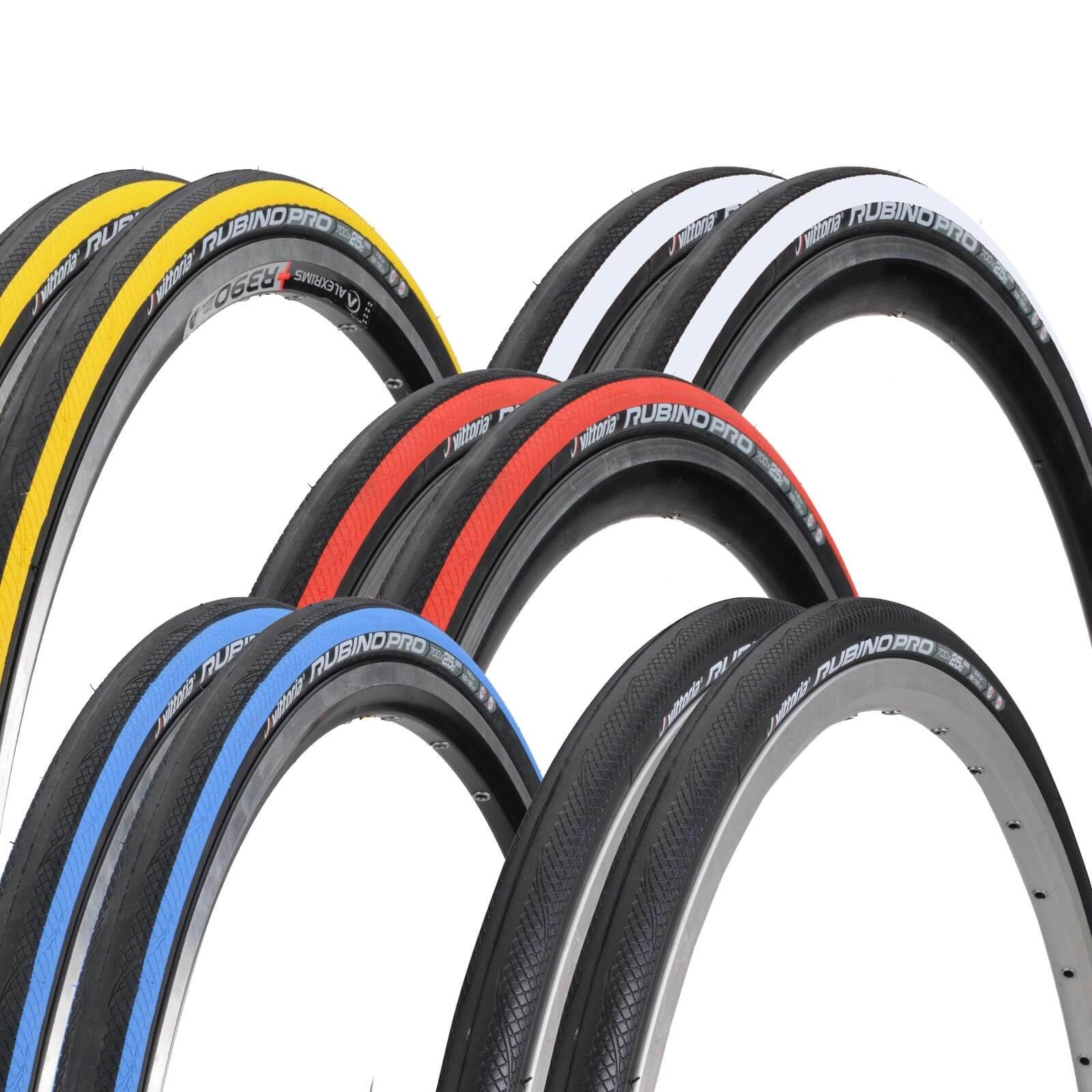 Vittoria Rubino Pro G+ Clincher Tyre Twin Pack | ProBikeKit UK