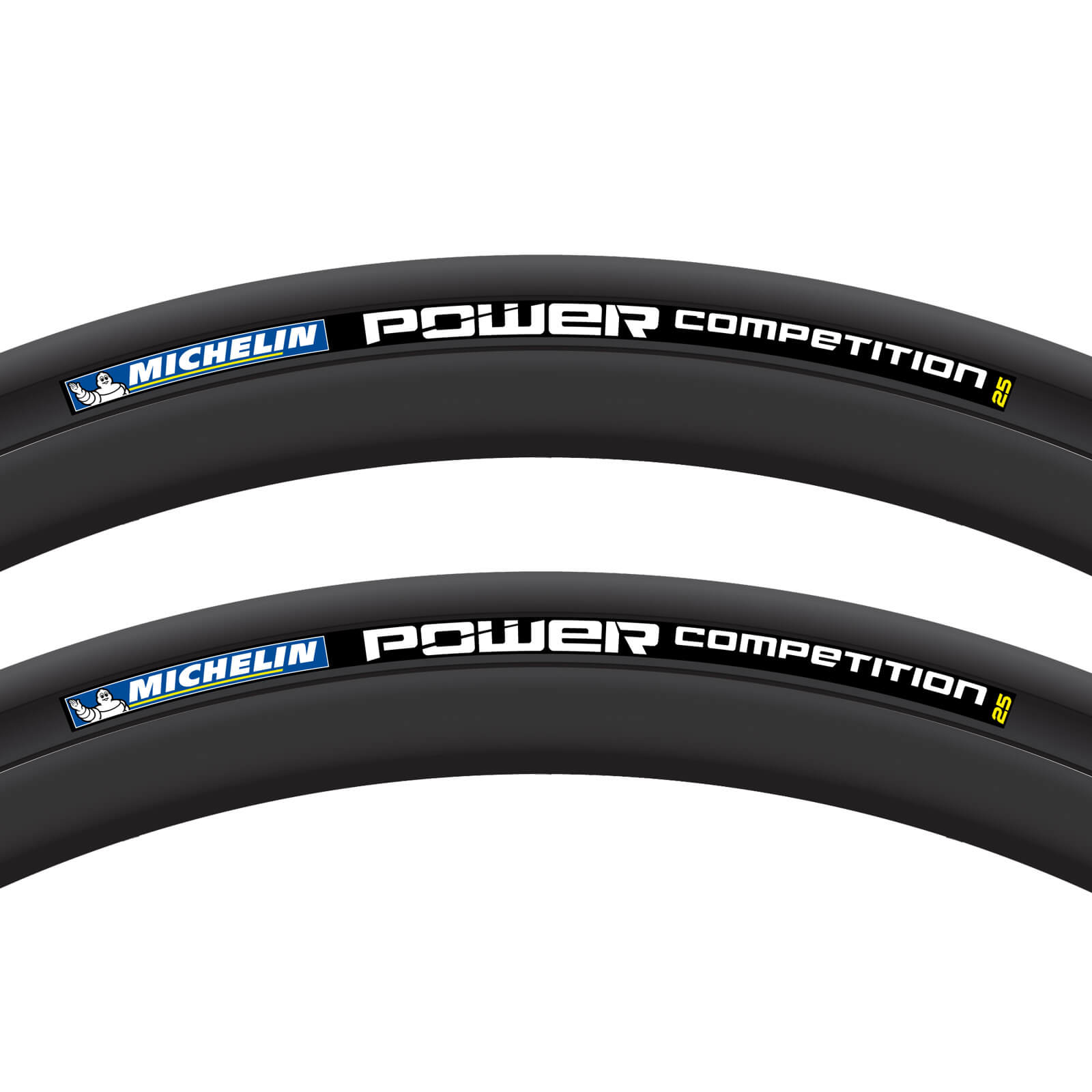 michelin power competition clincher tyre twin pack probikekit uk. Black Bedroom Furniture Sets. Home Design Ideas