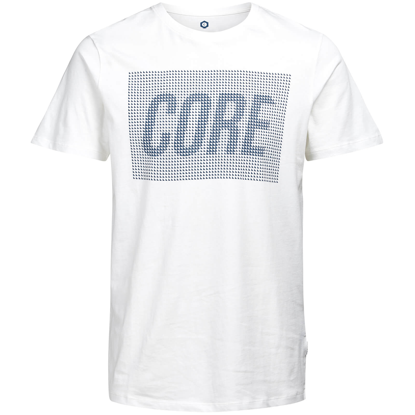 T-Shirt Homme Core Kevin Jack & Jones - Blanc