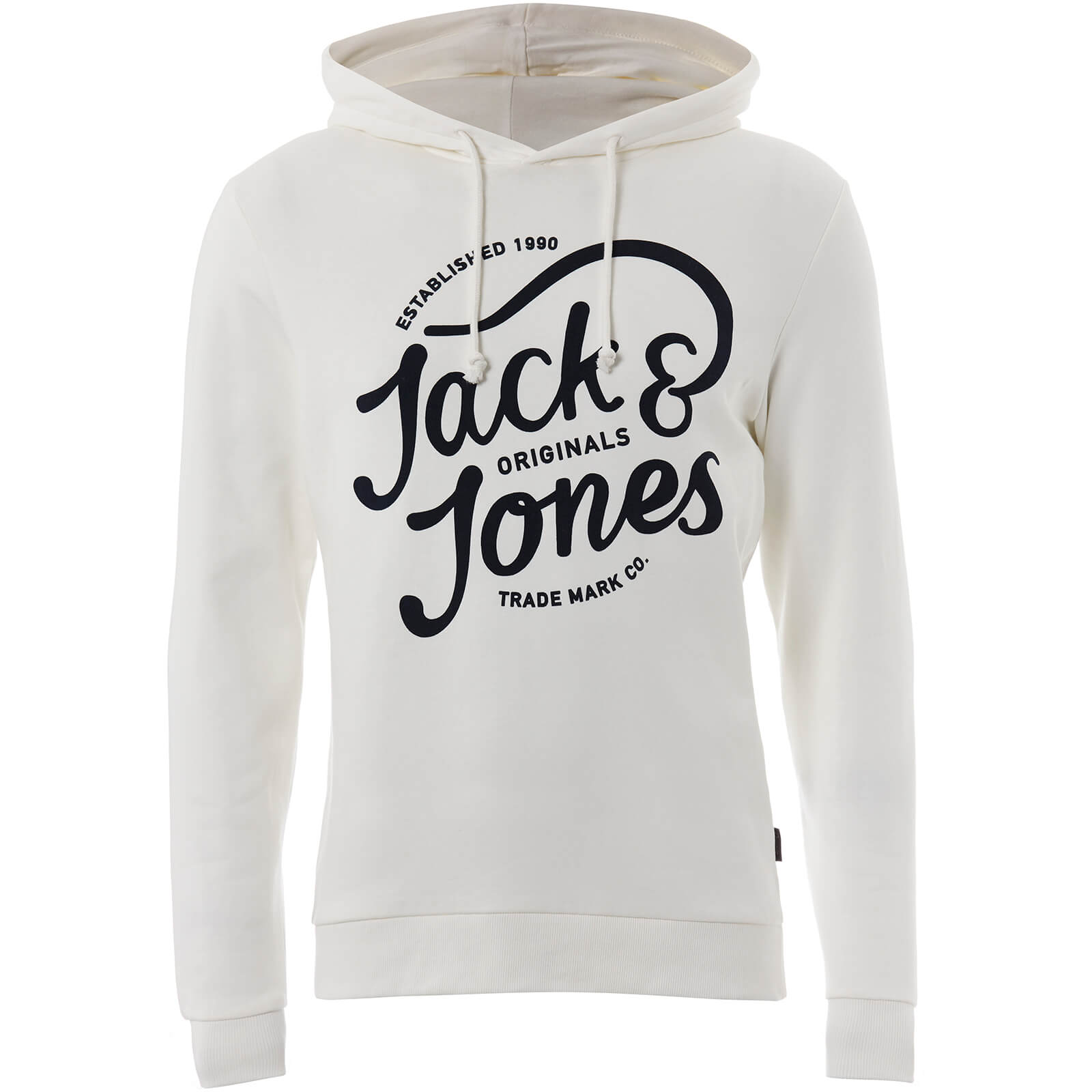 Sweat à Capuche Homme Originals Jolly Jack & Jones - Blanc