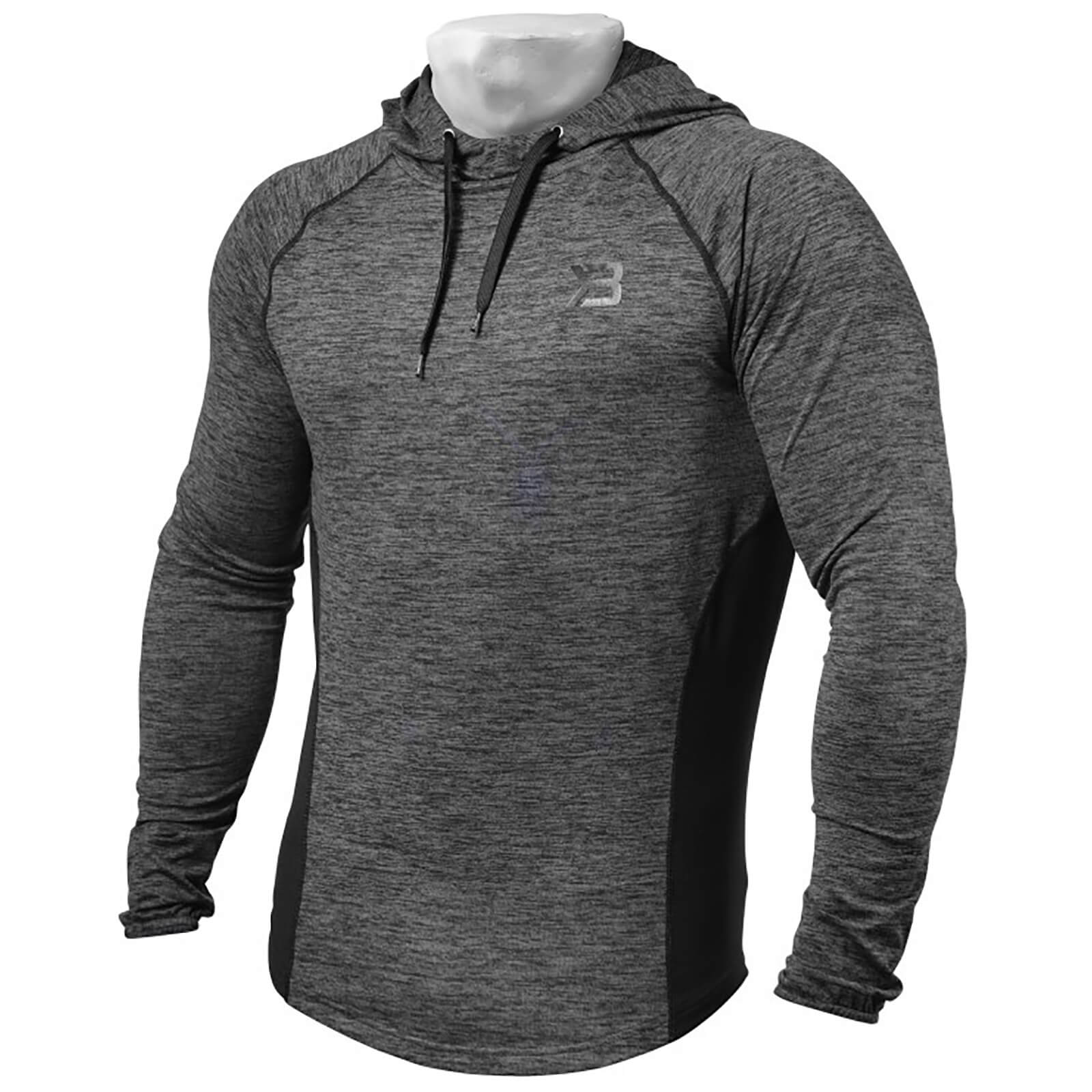 Better Bodies Performance Mid Hoody - Graph Melange - S