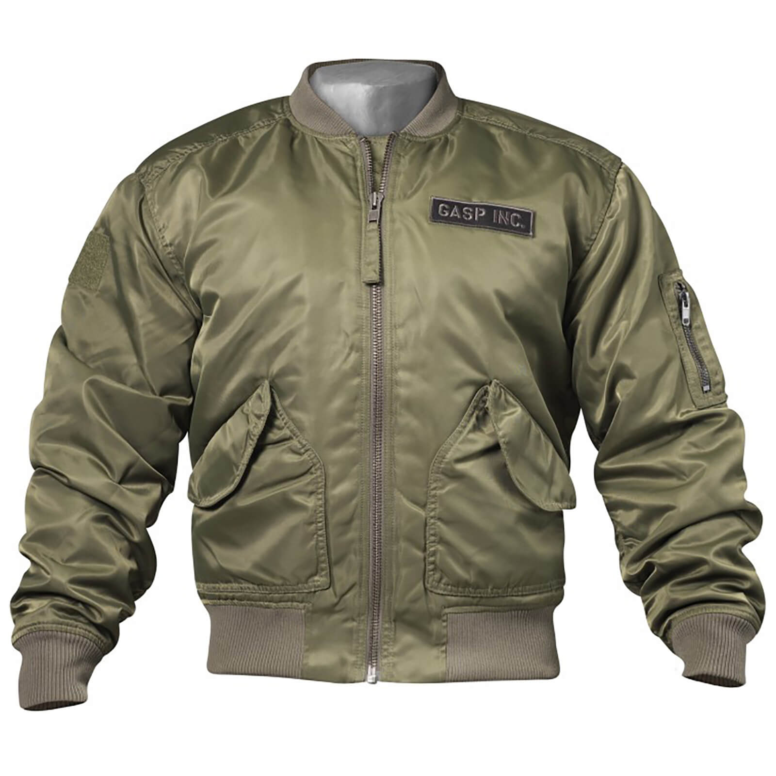 GASP Utility Jacket - Wash Green - M