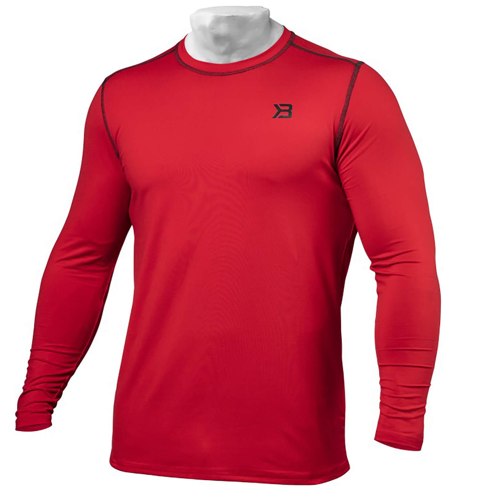 Better Bodies Performance Long Sleeve T-Shirt - Bright Red - S
