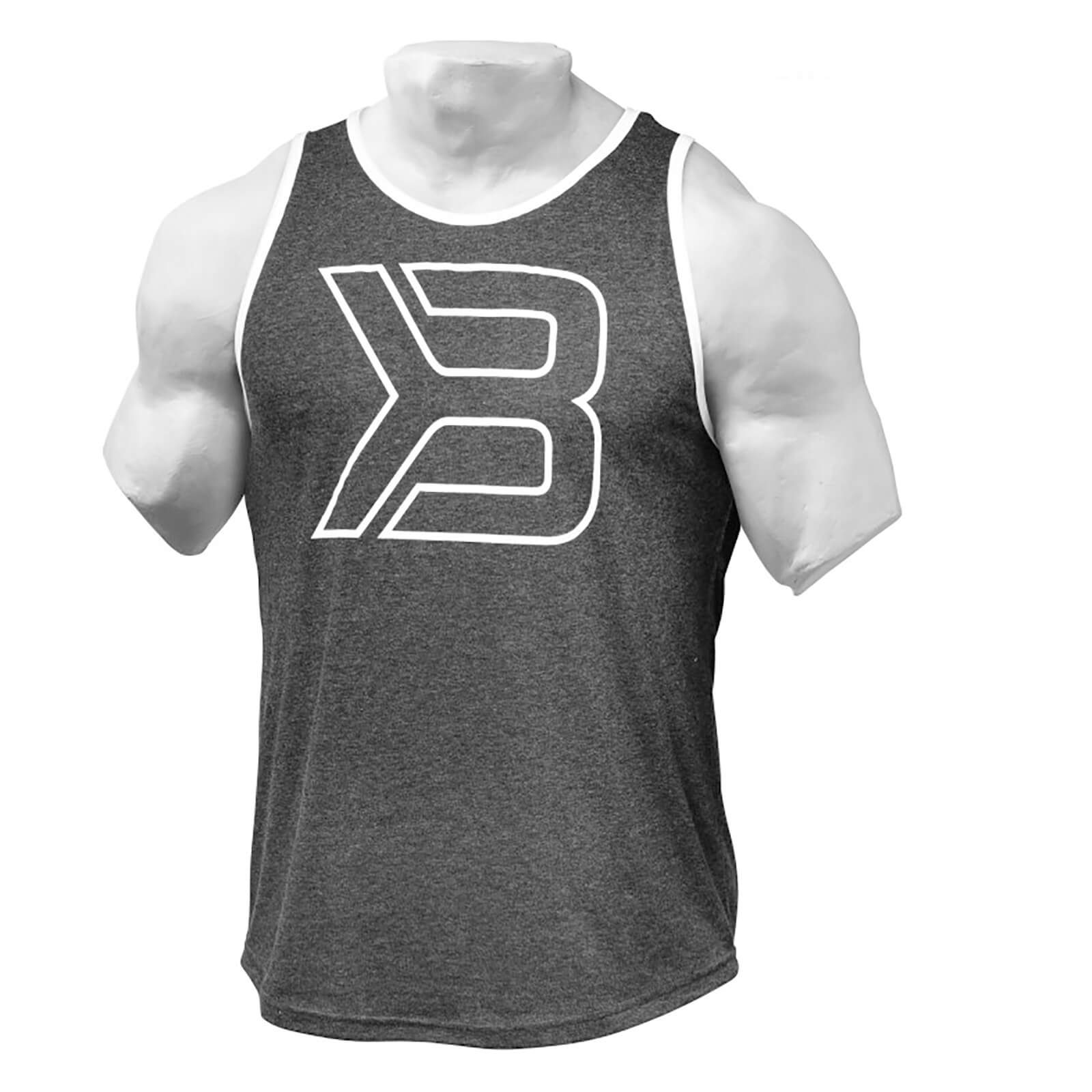 Better Bodies Jersey Tank Top - Antracite Melange - S