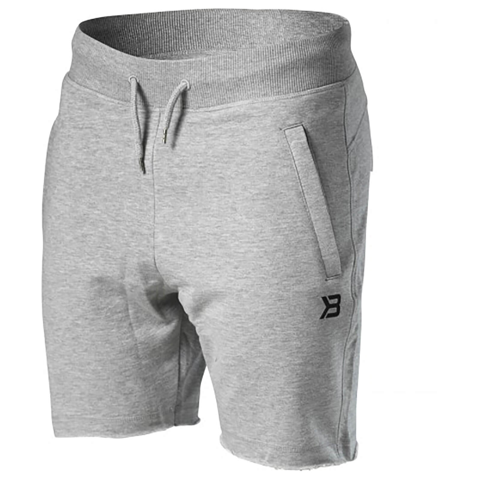 Better Bodies Hudson Sweatshorts - Grey Melange - S