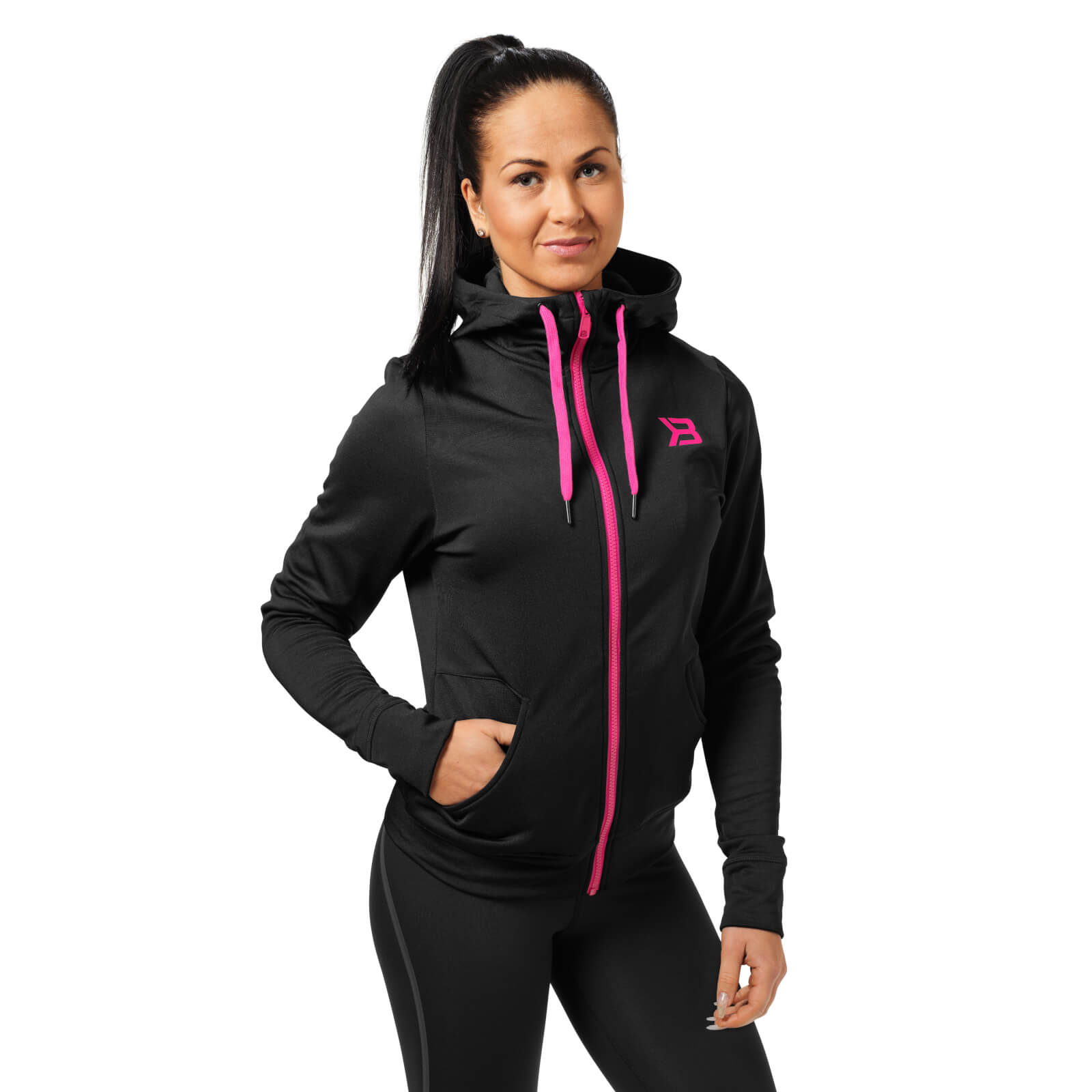 Better Bodies Performance Hoody - Black - S