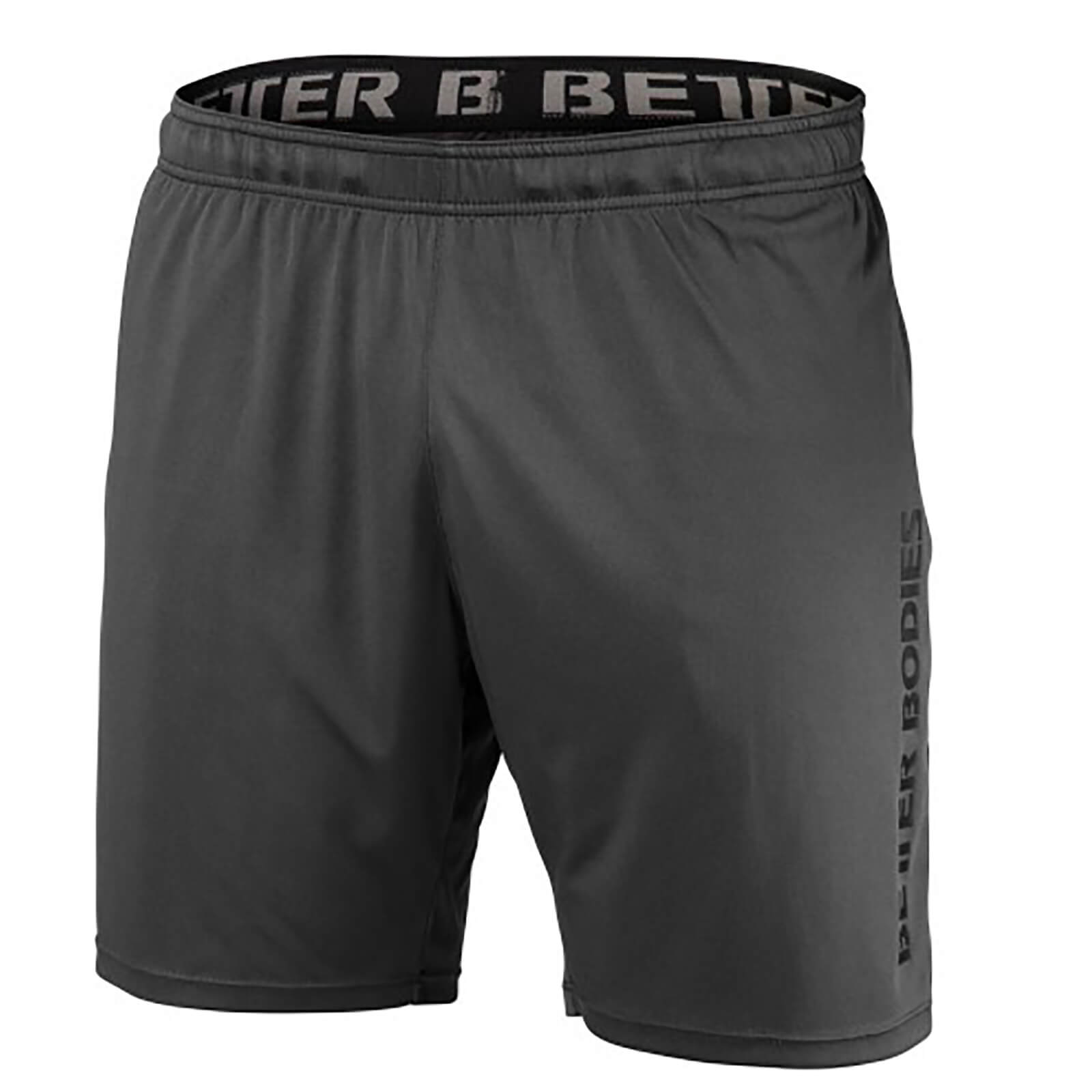 Better Bodies Loose Function Shorts - Iron - S