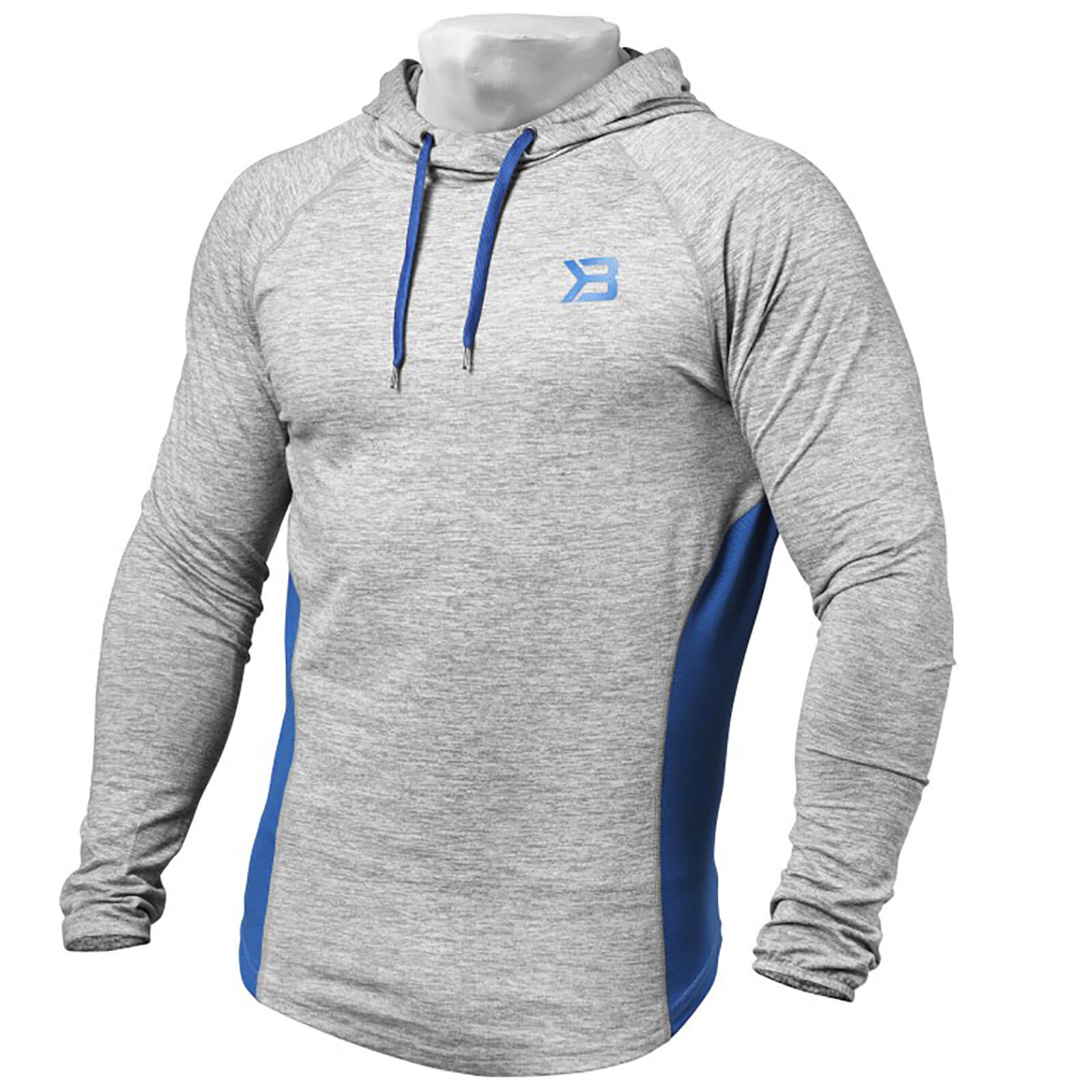 Better Bodies Performance Mid Hoody - Grey Melange