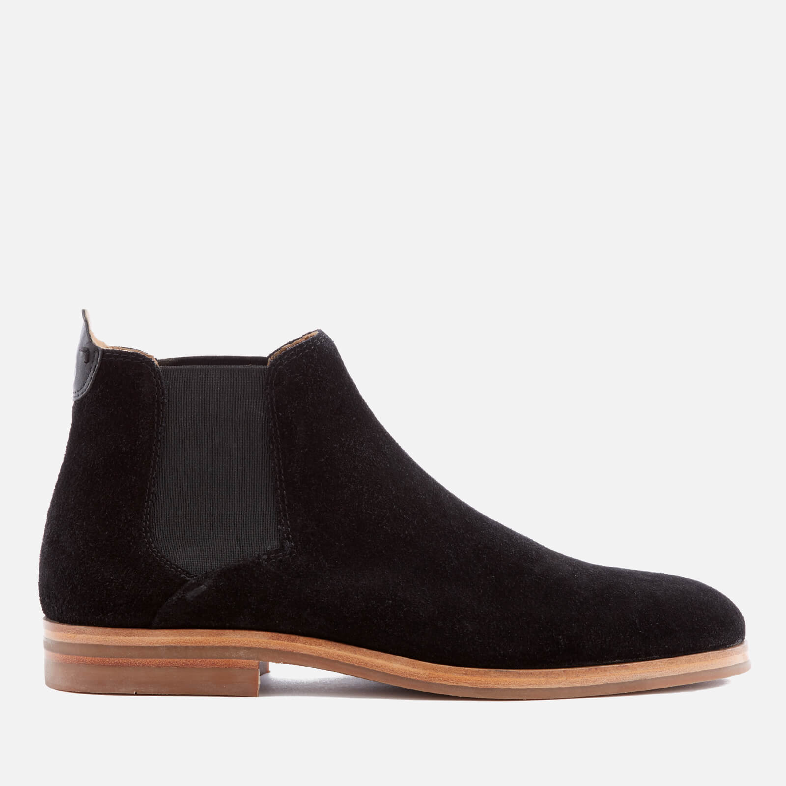 Hudson London Tonti Leather Chelsea Boots In Tan Men