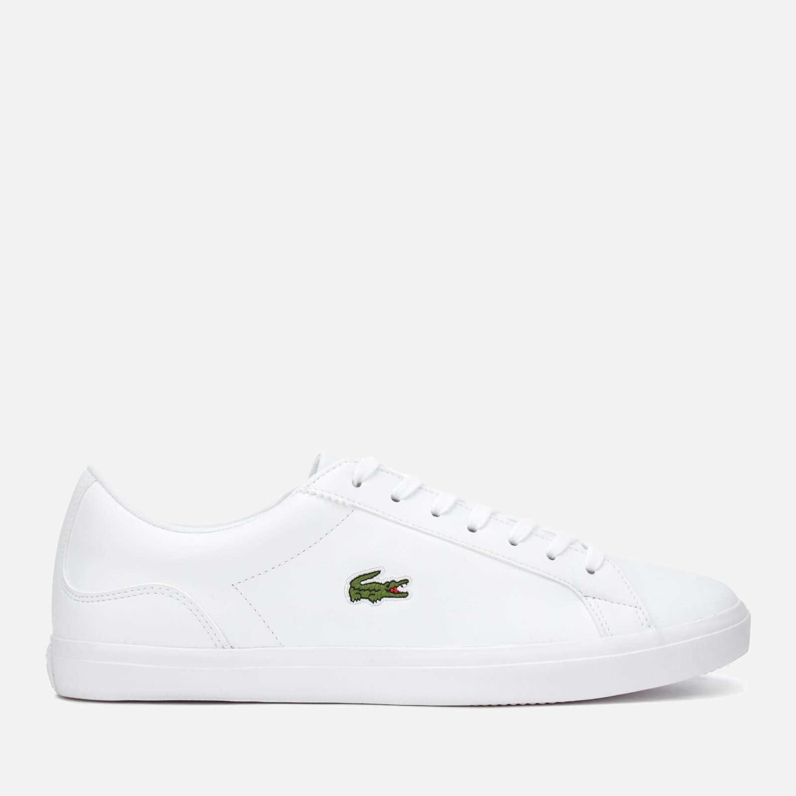 f076c93ca98467 Lacoste Men s Lerond Bl 1 Leather Trainers - White - Free UK Delivery over  £50