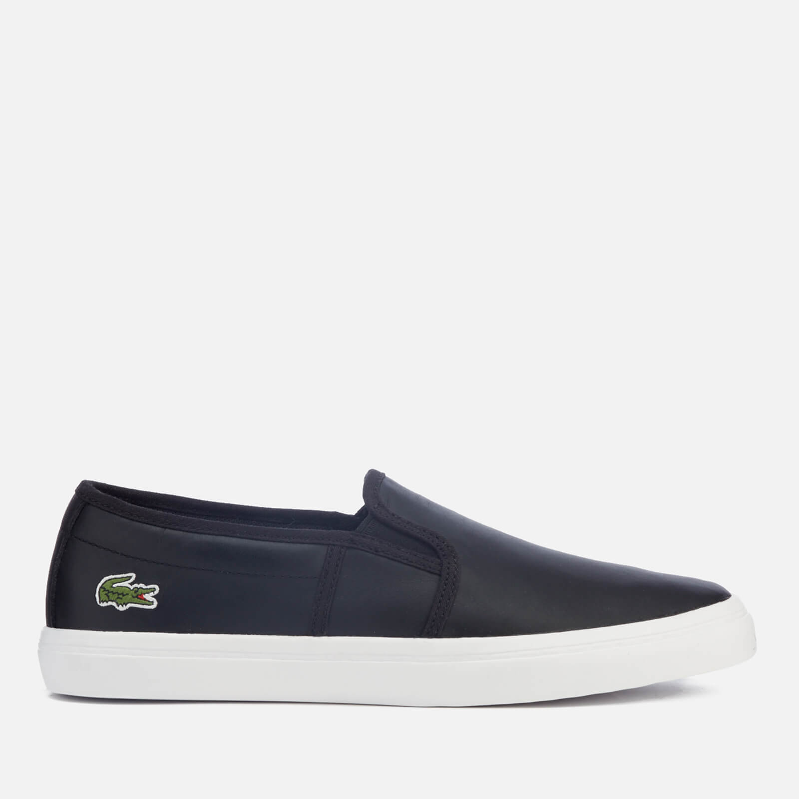 7e1ea602d Lacoste Women s Gazon Bl 1 Leather Slip-On Trainers - Black - Free UK  Delivery over £50