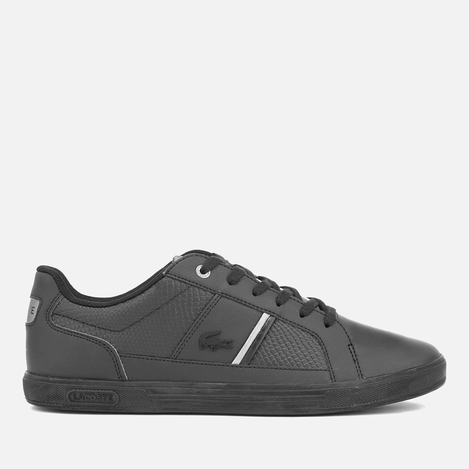 ce2c0b909 Lacoste Men s Europa 417 1 Trainers - Black - Free UK Delivery over £50