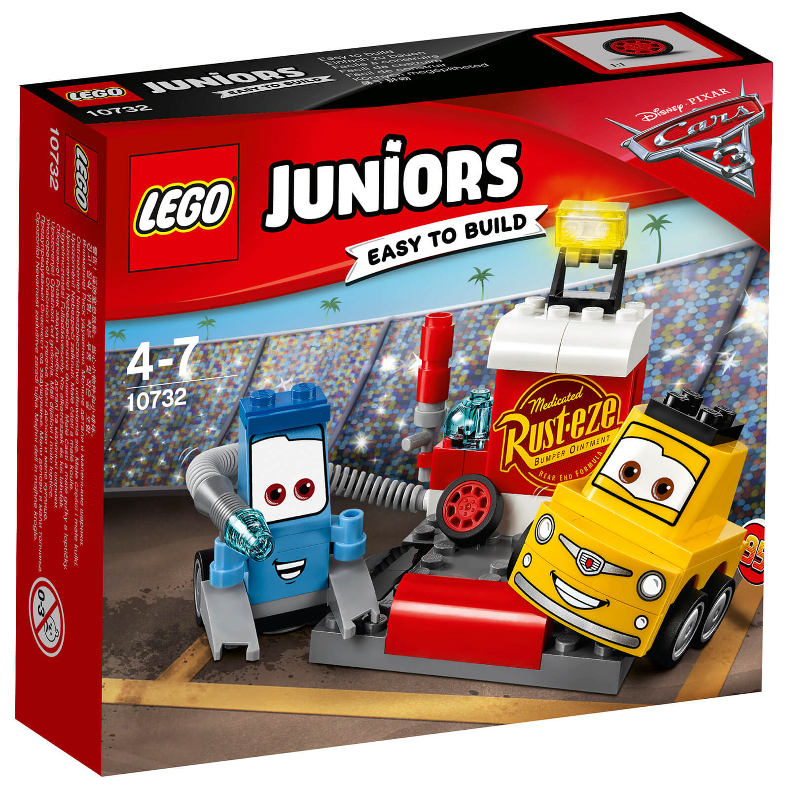 LEGO Juniors: Cars 3 Guido and Luigi