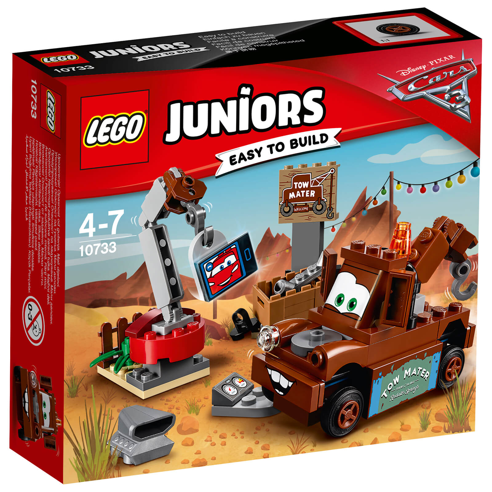 LEGO Juniors: Cars 3 Mater