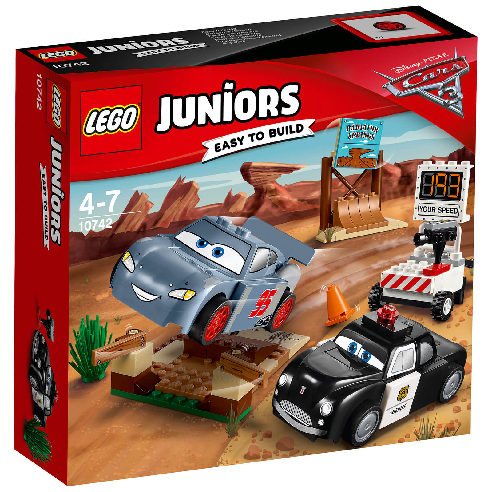 LEGO Juniors: Cars 3 Willy