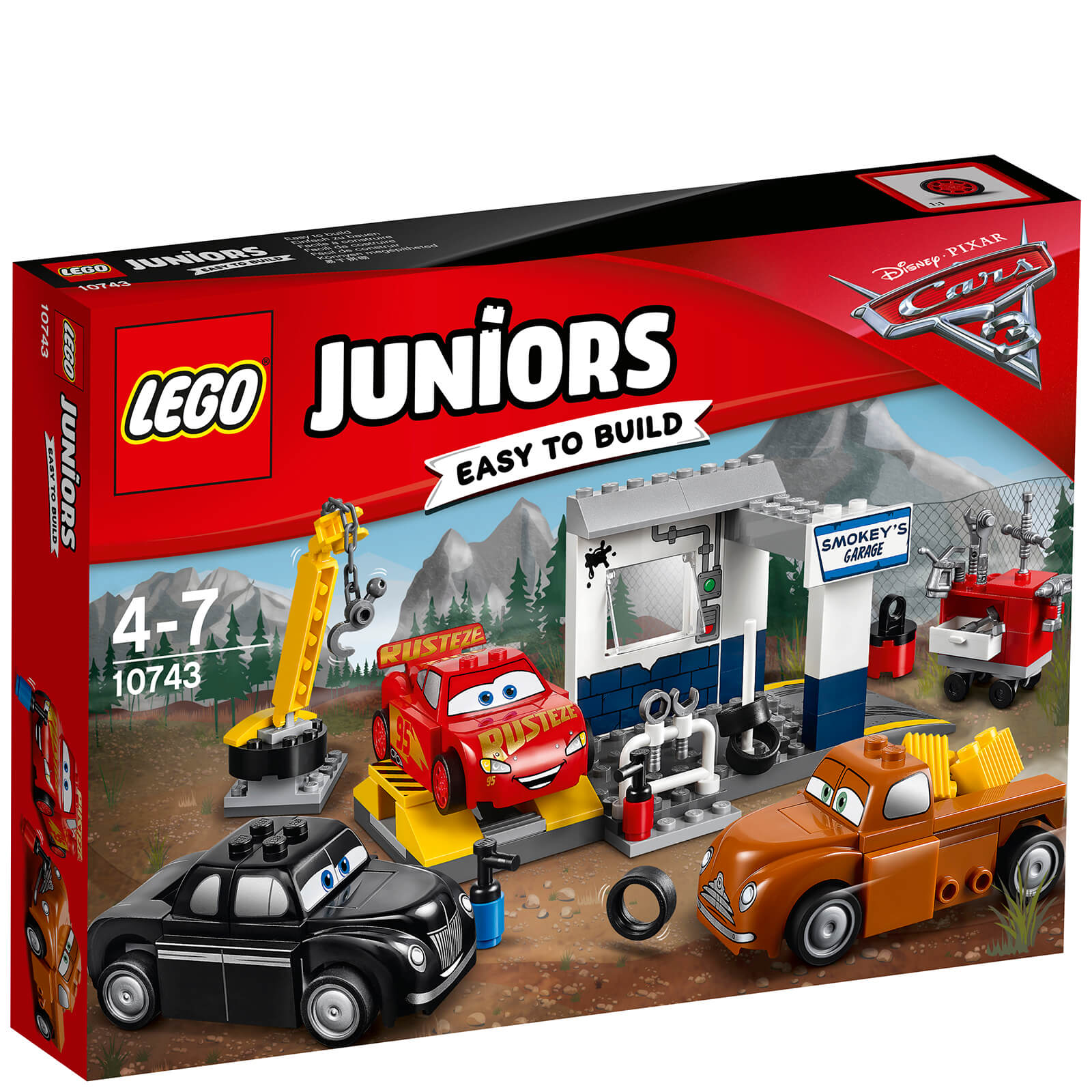 LEGO Juniors: Cars 3 Smokey