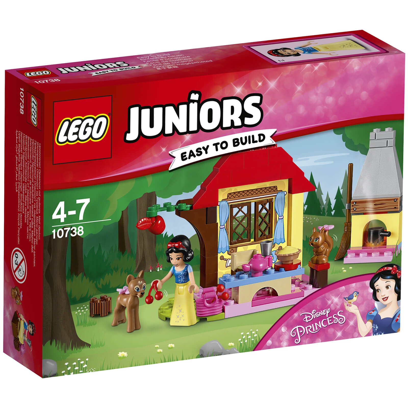 LEGO Juniors: Disney Snow Whites Forest Cottage (10738)