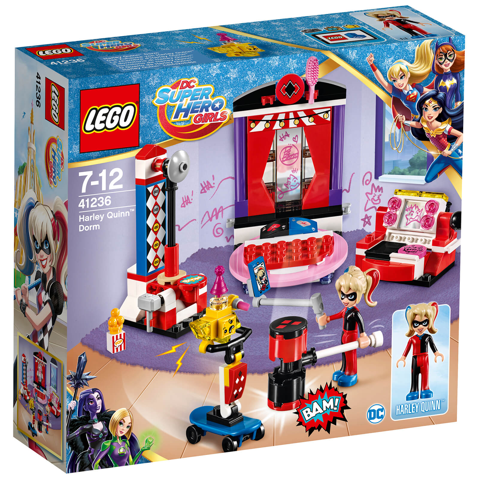 LEGO DC Super Hero Girls: La chambre d