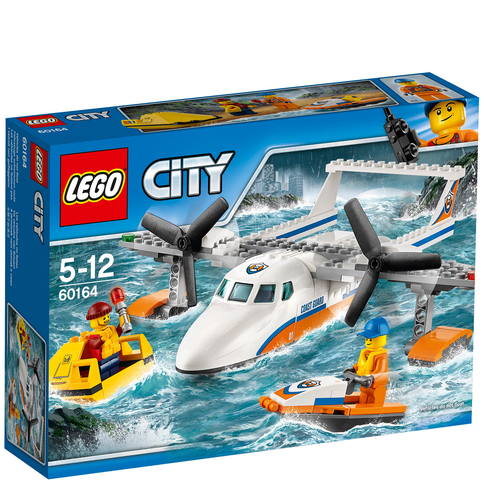 LEGO City: Coast Guard Sea Rescue Plane (60164)